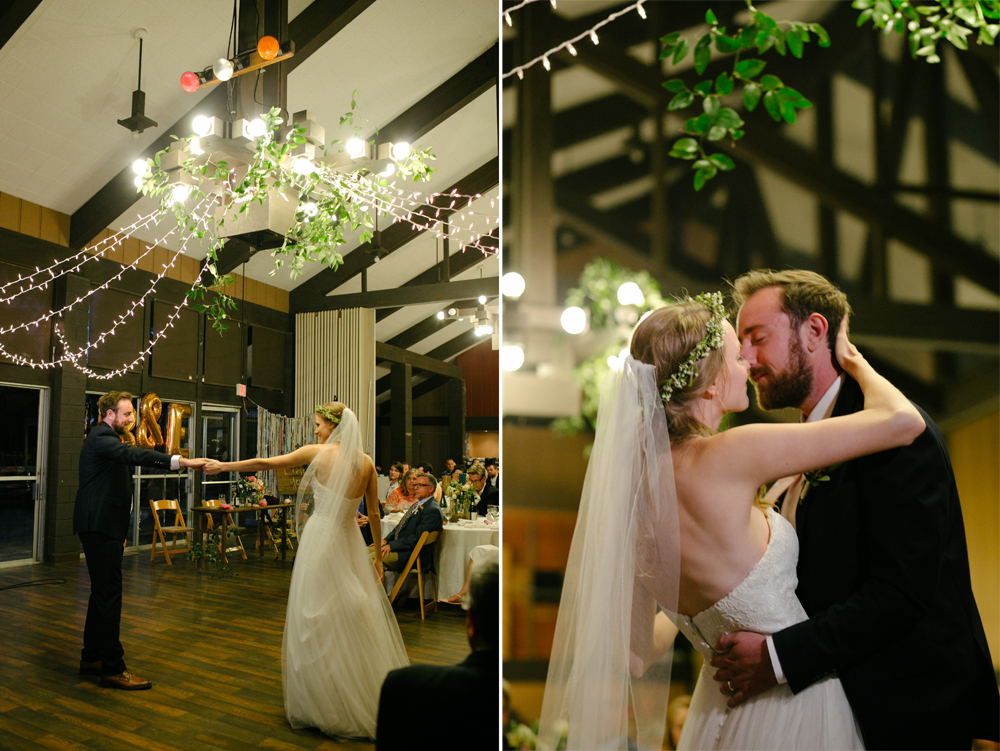 Thousand Pines Christian Camp and Conference Center |  Likemorningsun Wedding Photographer | Dining Hall Reception