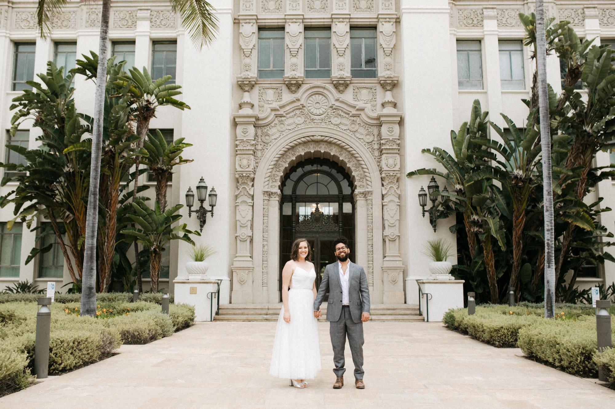 Beverly Hills Courthouse Wedding Photography Alexandra Ian Like Morning Sun Arizona And California Photography And Videography