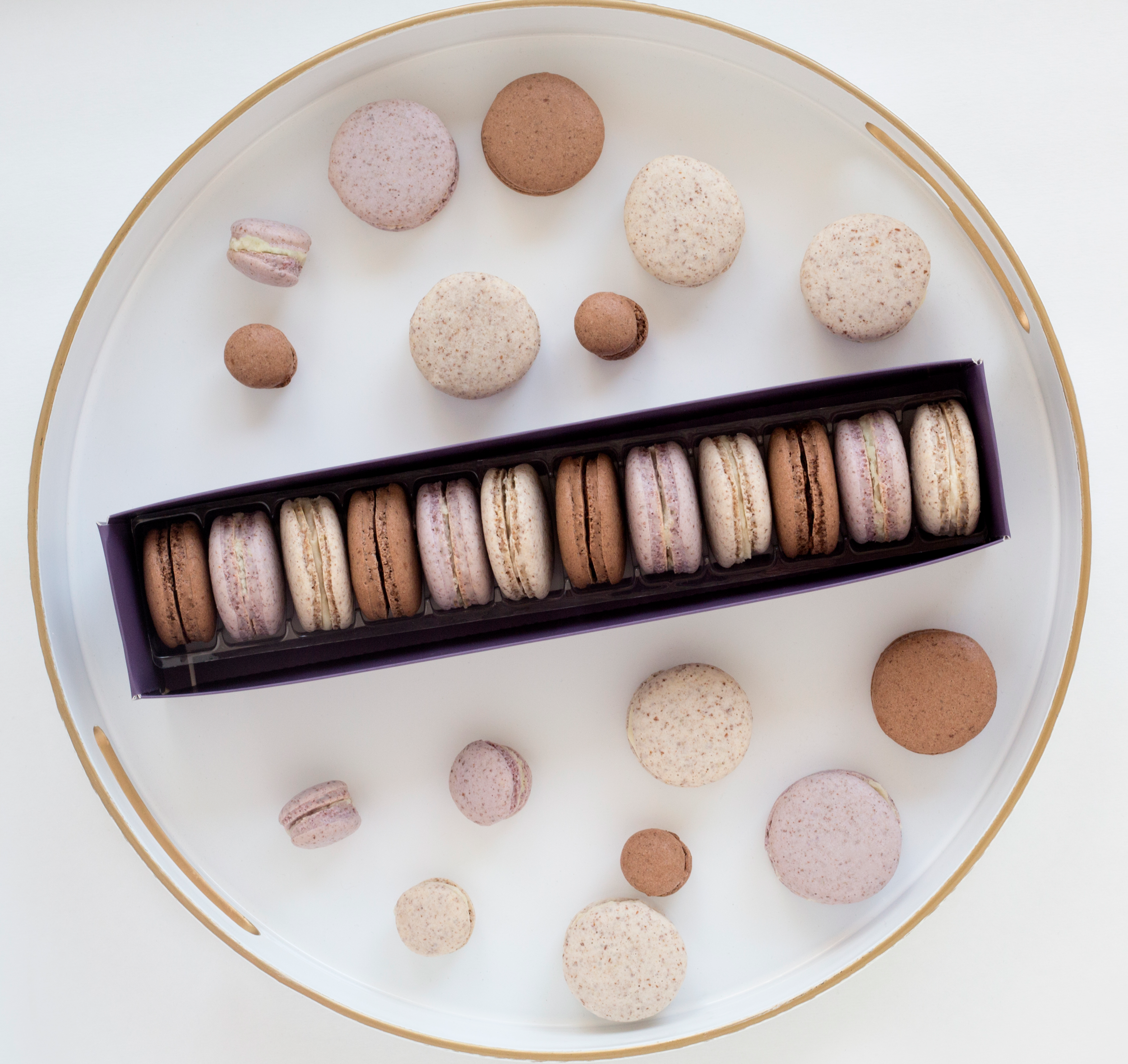 OUR MACARONS - GLUTEN FREE. VEGAN. WE PROMISE.