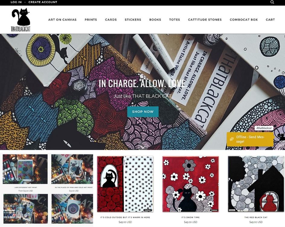 thatblackcat.com screenshot.jpg