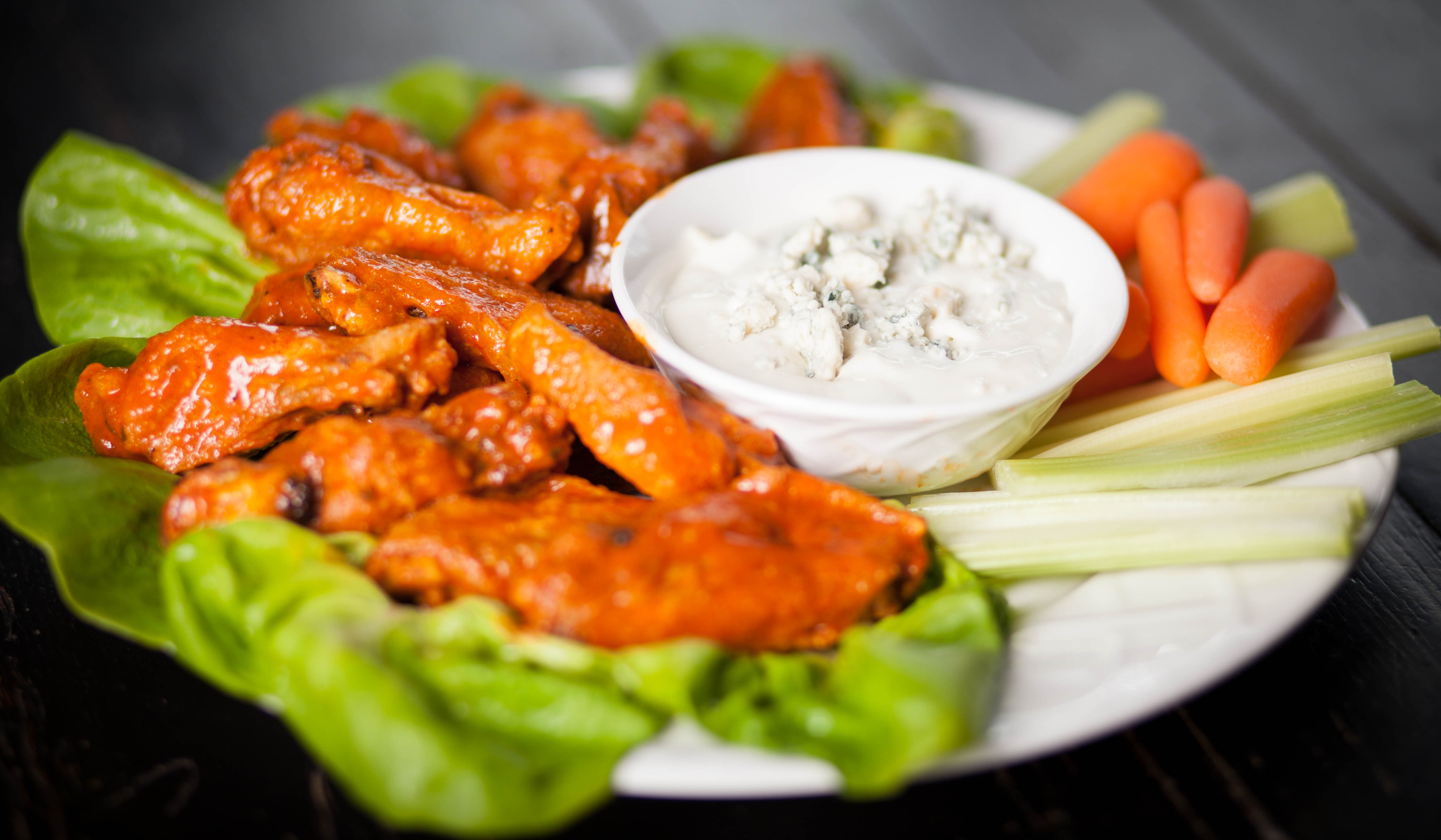 JB's Best Hearty Hot Sauce Buffalo Chicken Wings