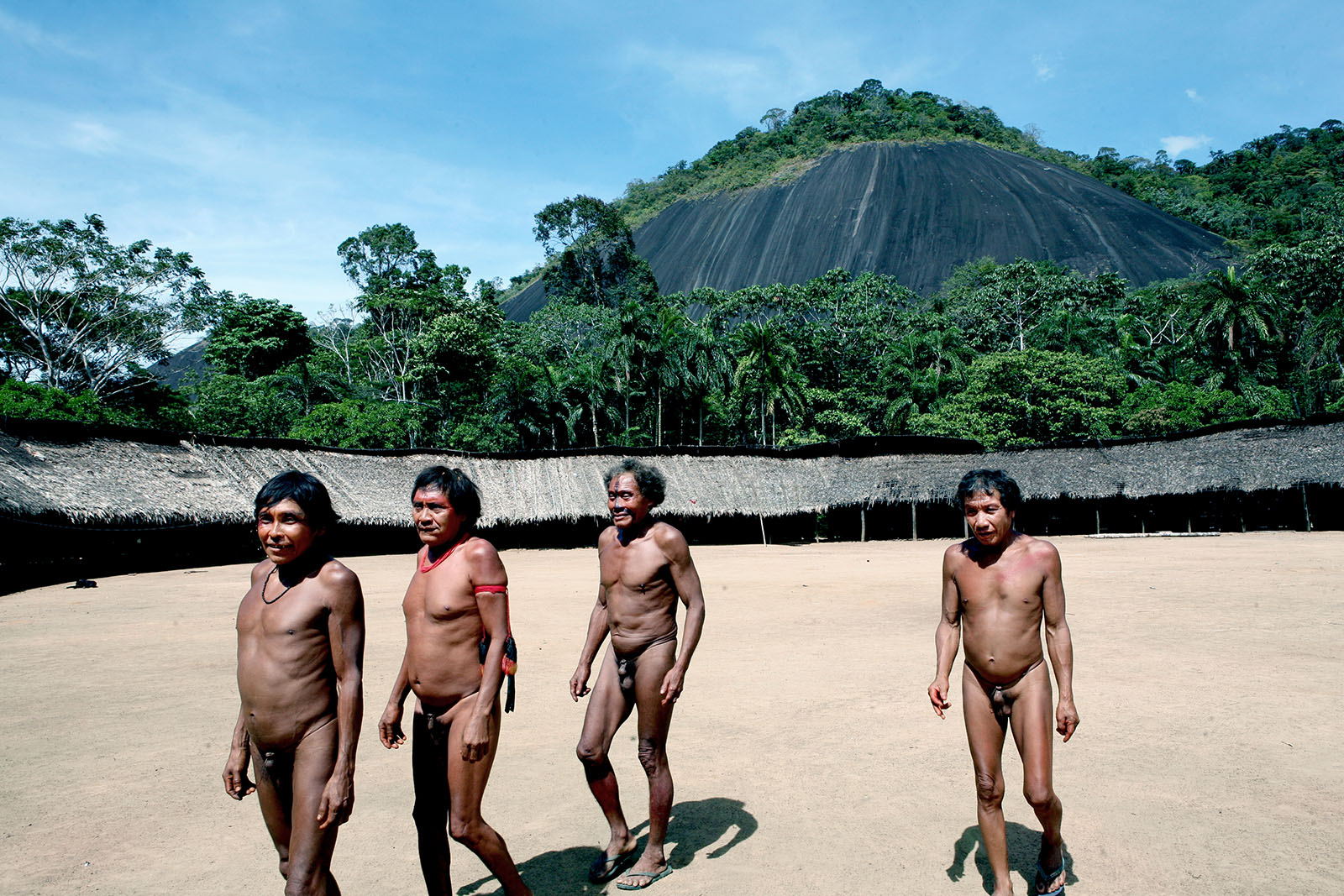 The Yanomami tribe in Demini, Brazil.