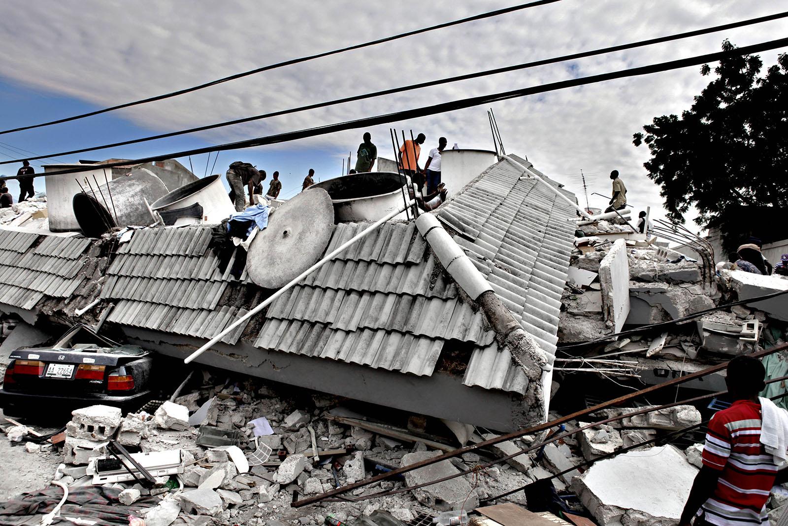 The earthquake in Haiti in January 2010 killed over 200,000 people.