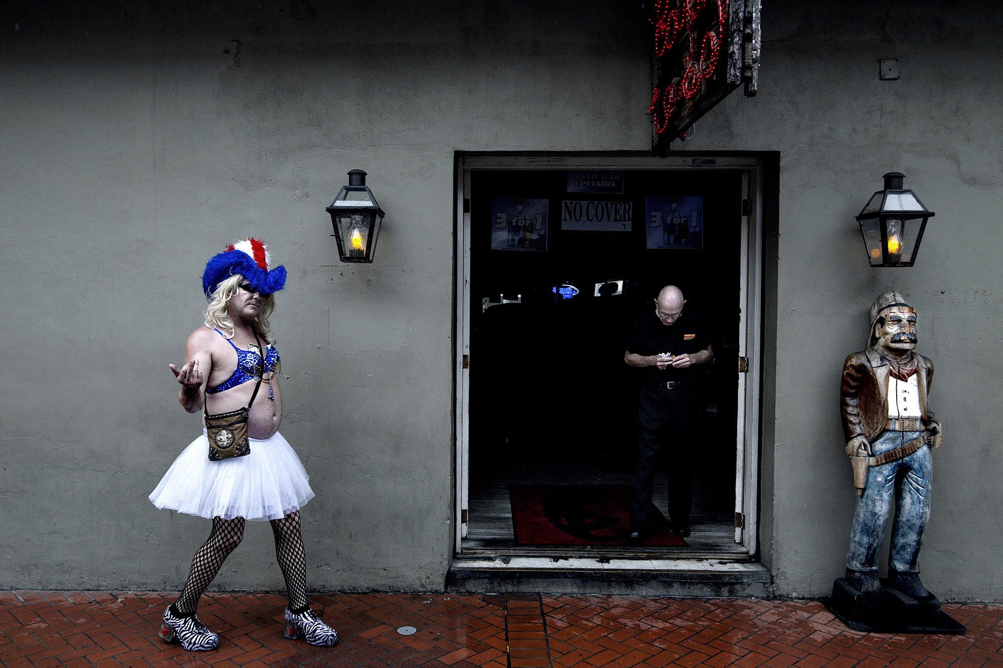 Bourbon Street:Tourism is now back to pre-Katrina levels.
