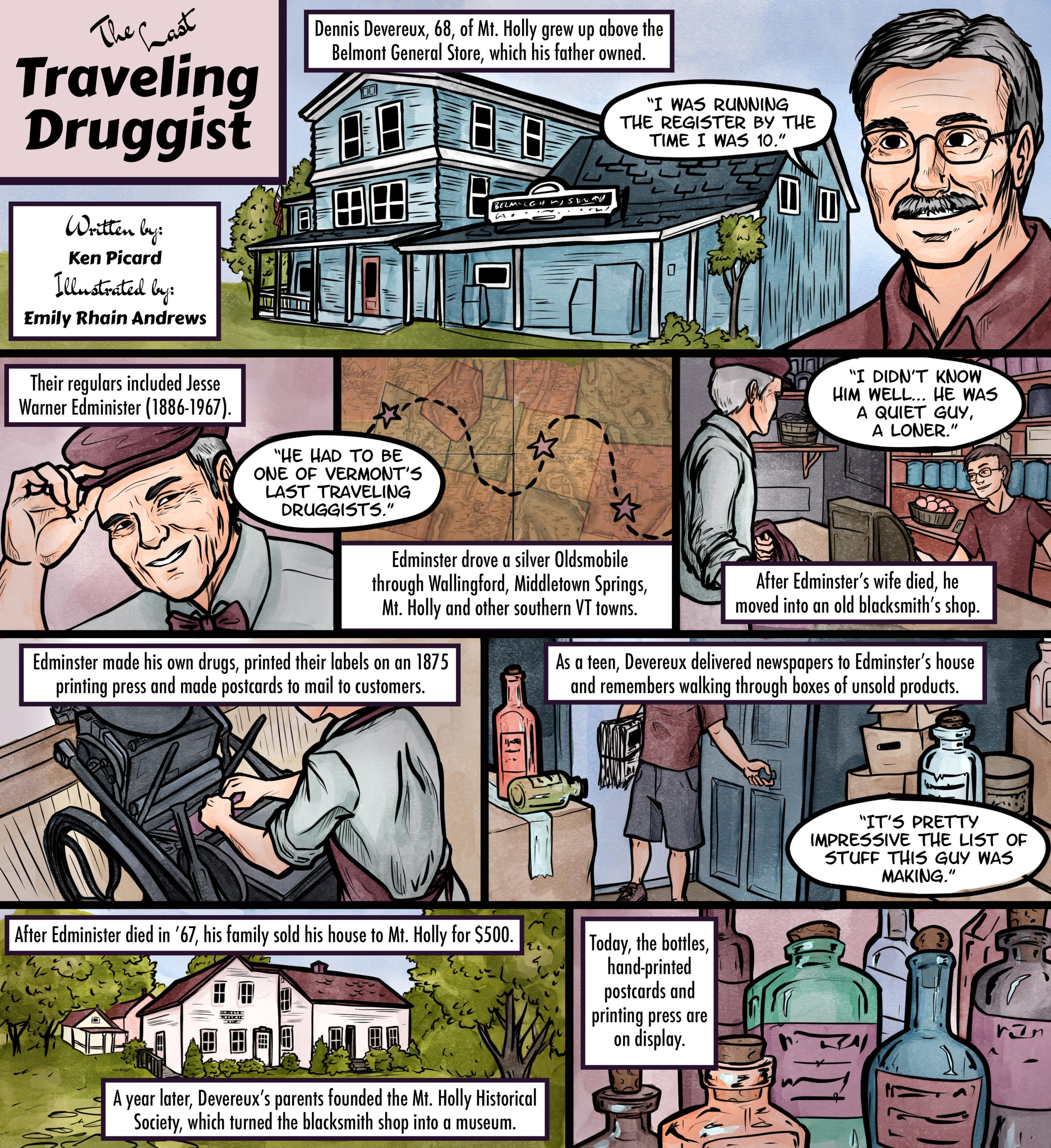 The Last Traveling Druggist