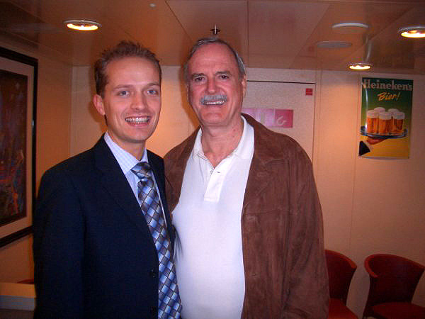 with John Cleese