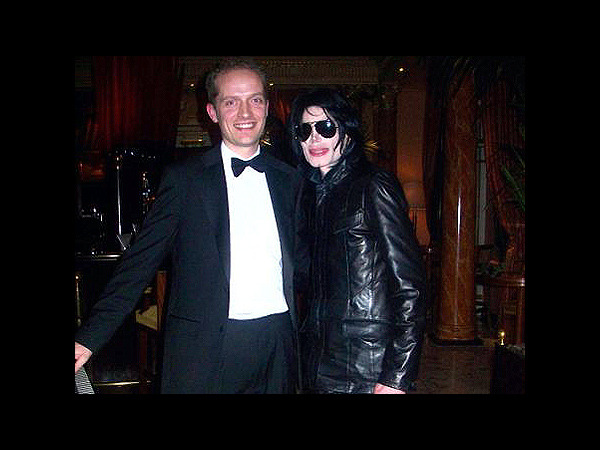 Danny and Michael Jackson, March 2007