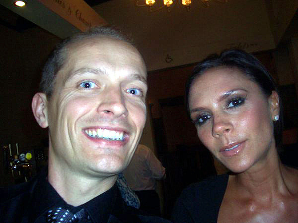 Danny and Victoria Beckham, June 2009