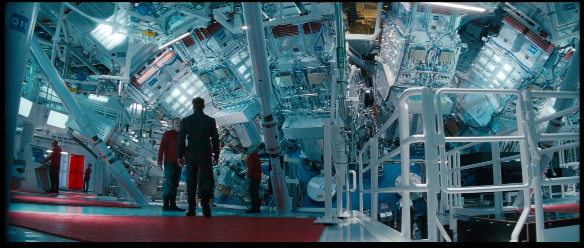 The  Enterprise 's warp core (© Paramount Pictures)