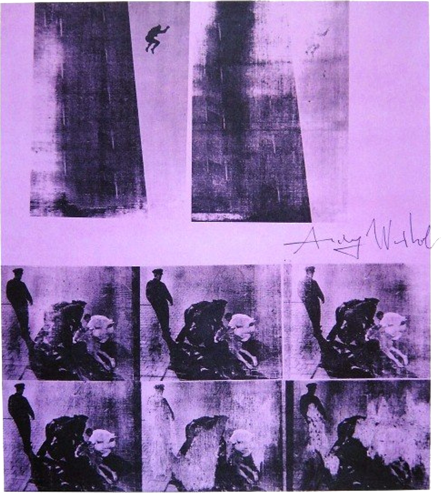 Andy Warhol's 1963 screen-print,  Suicide