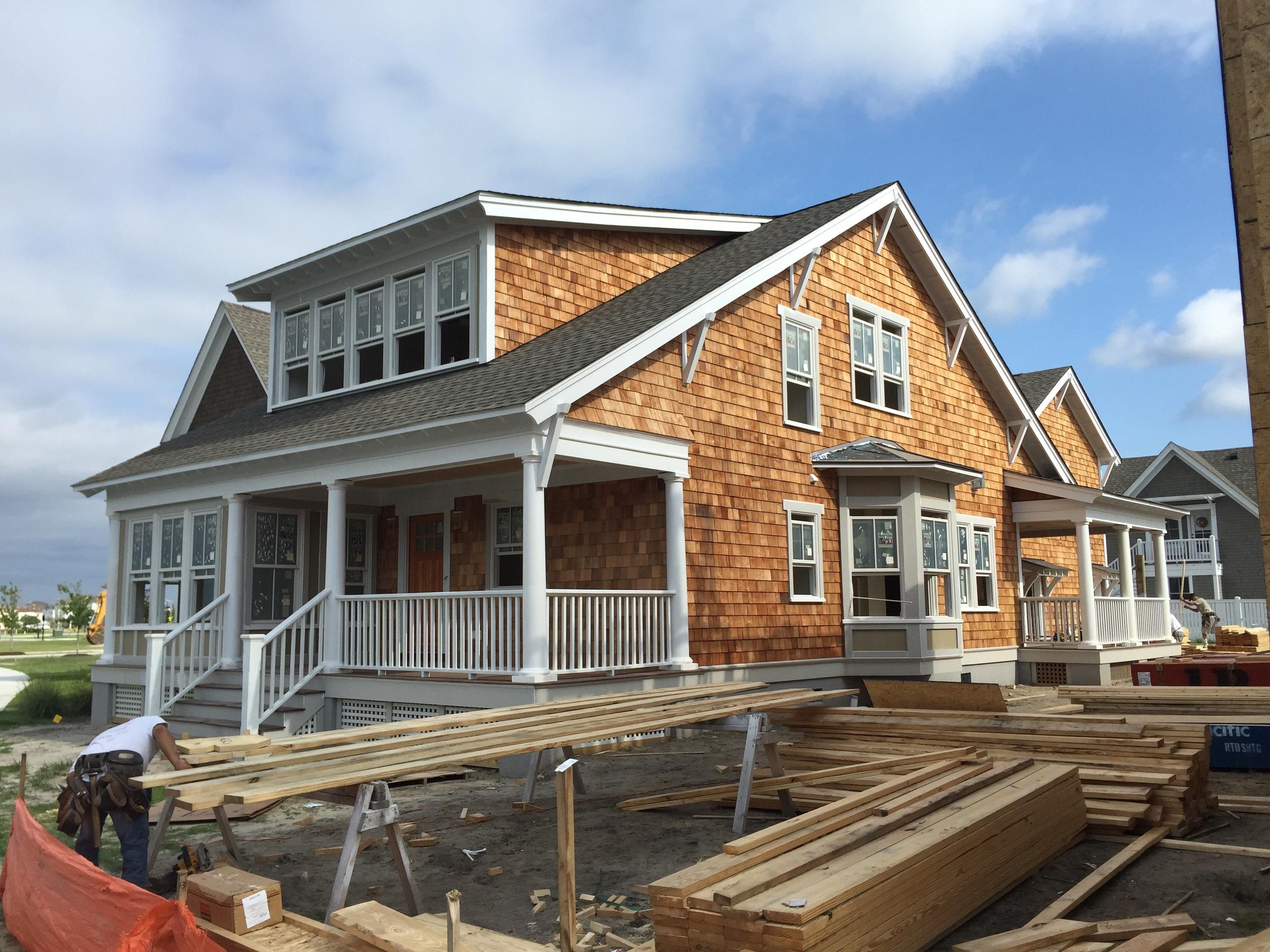 East Beach Craftsman Style House