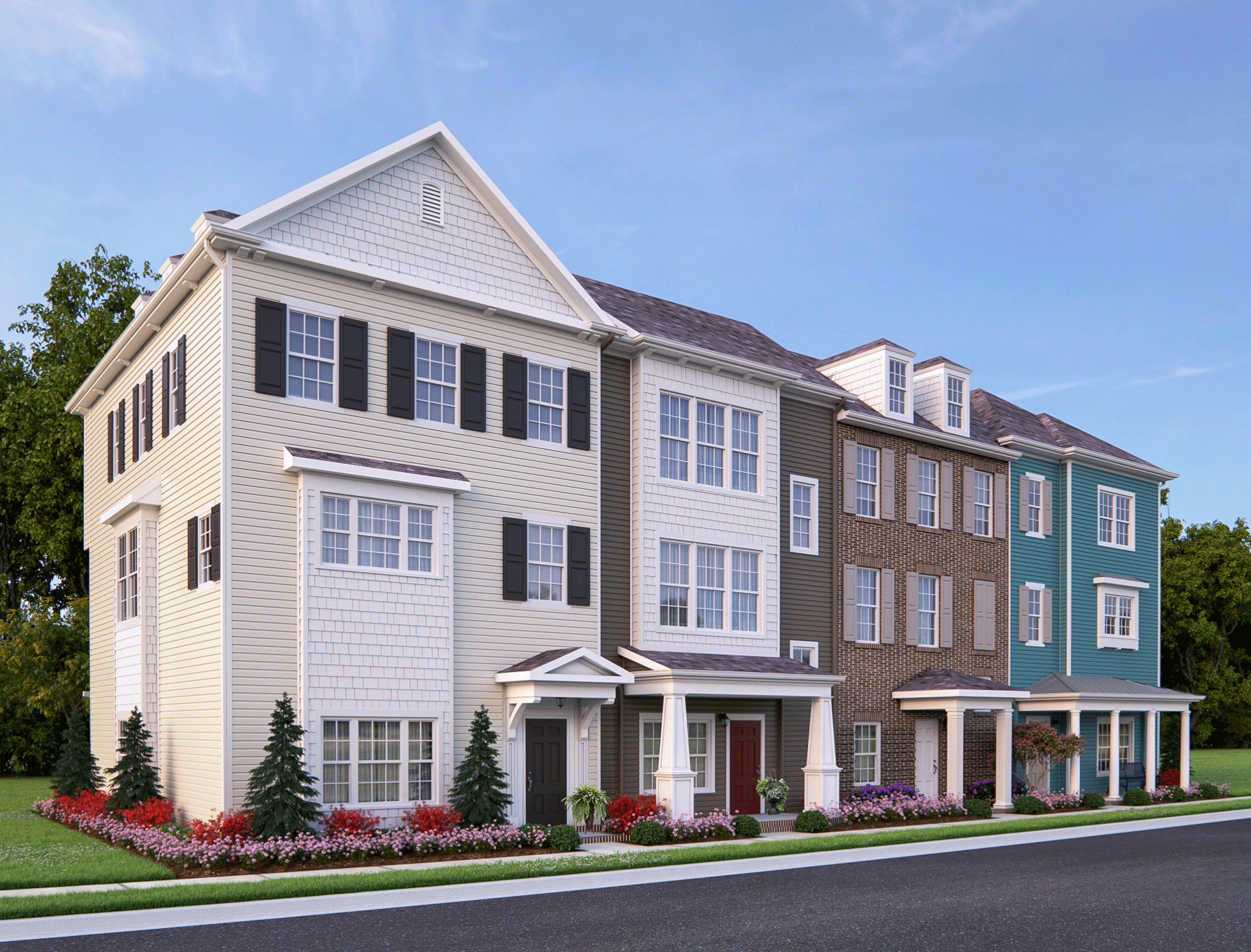 4 Unit Building, Mallory at Spence Crossing
