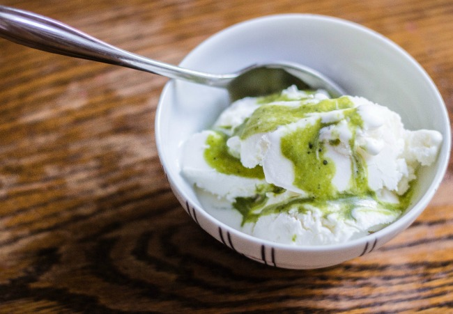 tillamook-ice-cream-with-green-tea-syrup