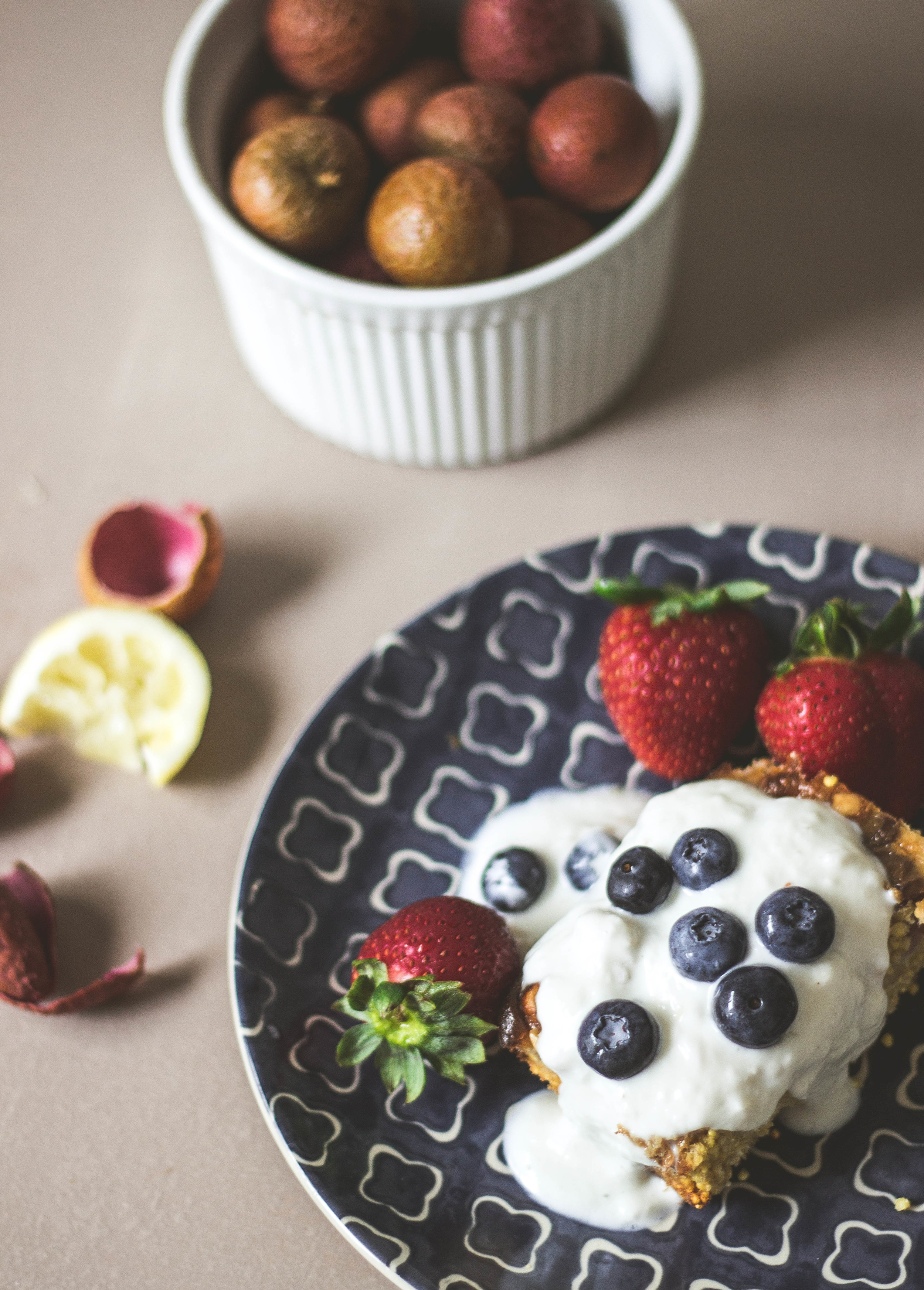 baked millet with lychee and lemon yogurt cream3.jpg