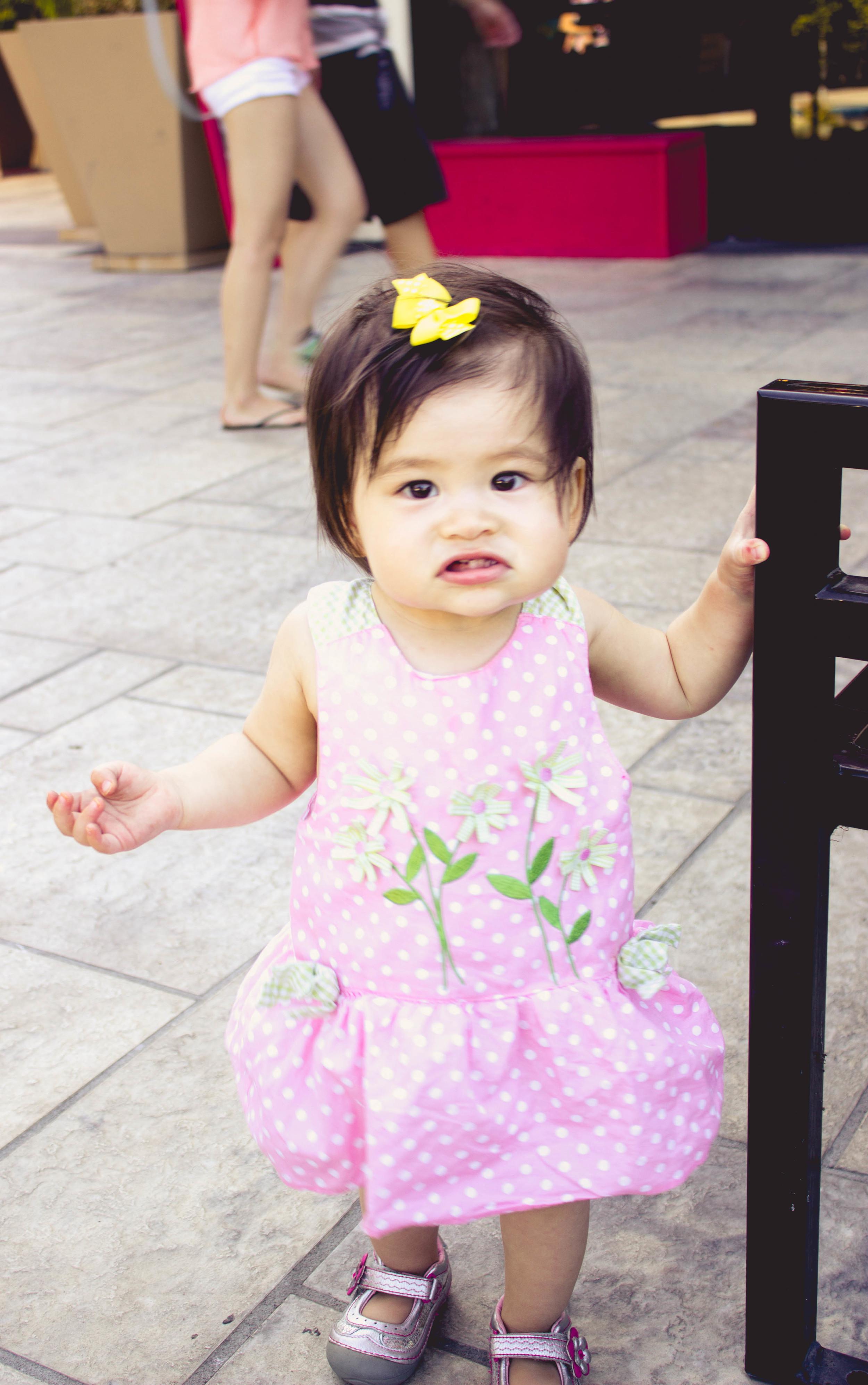 selah at 14 months in cerritos