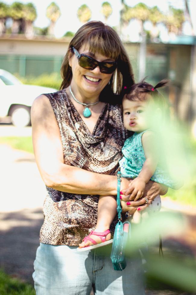 Selah and Grandma at Wilson Park | fit for the soul