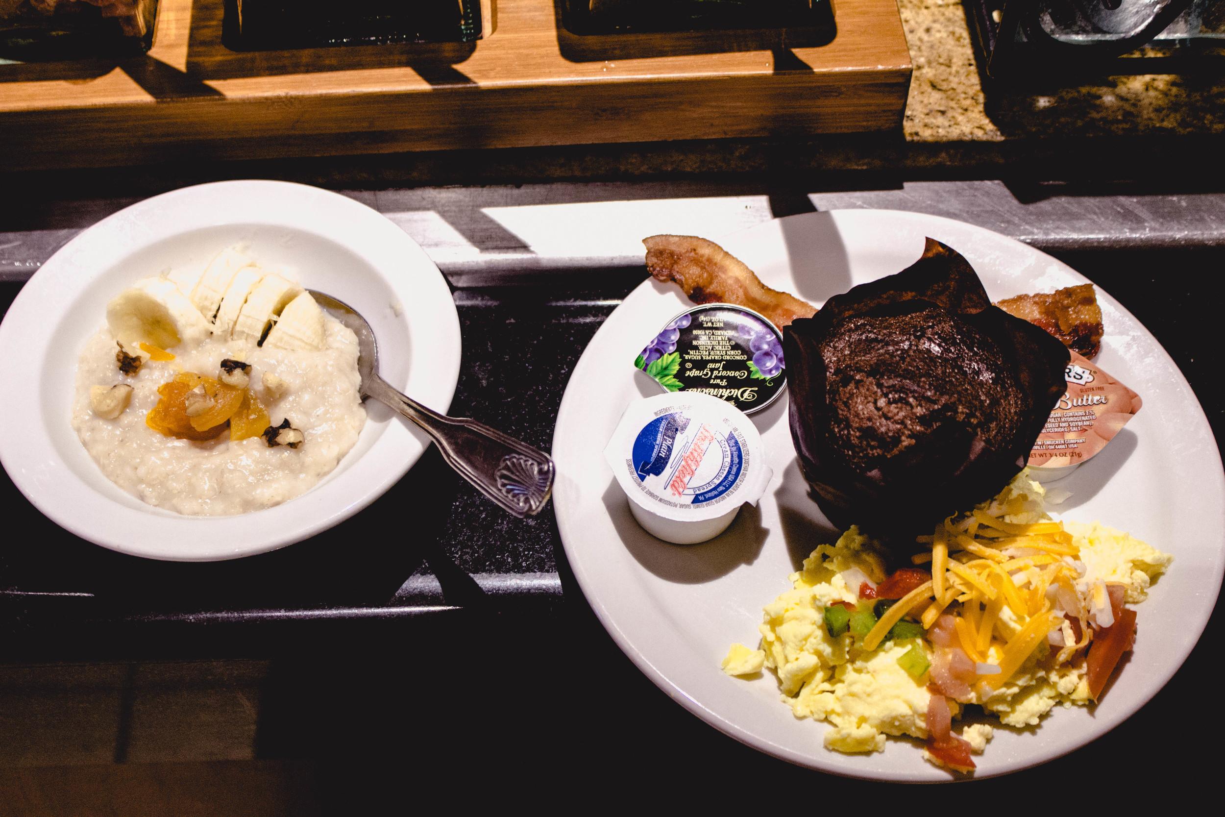 Doubletree Hilton Breakfast Buffet | fit for the soul