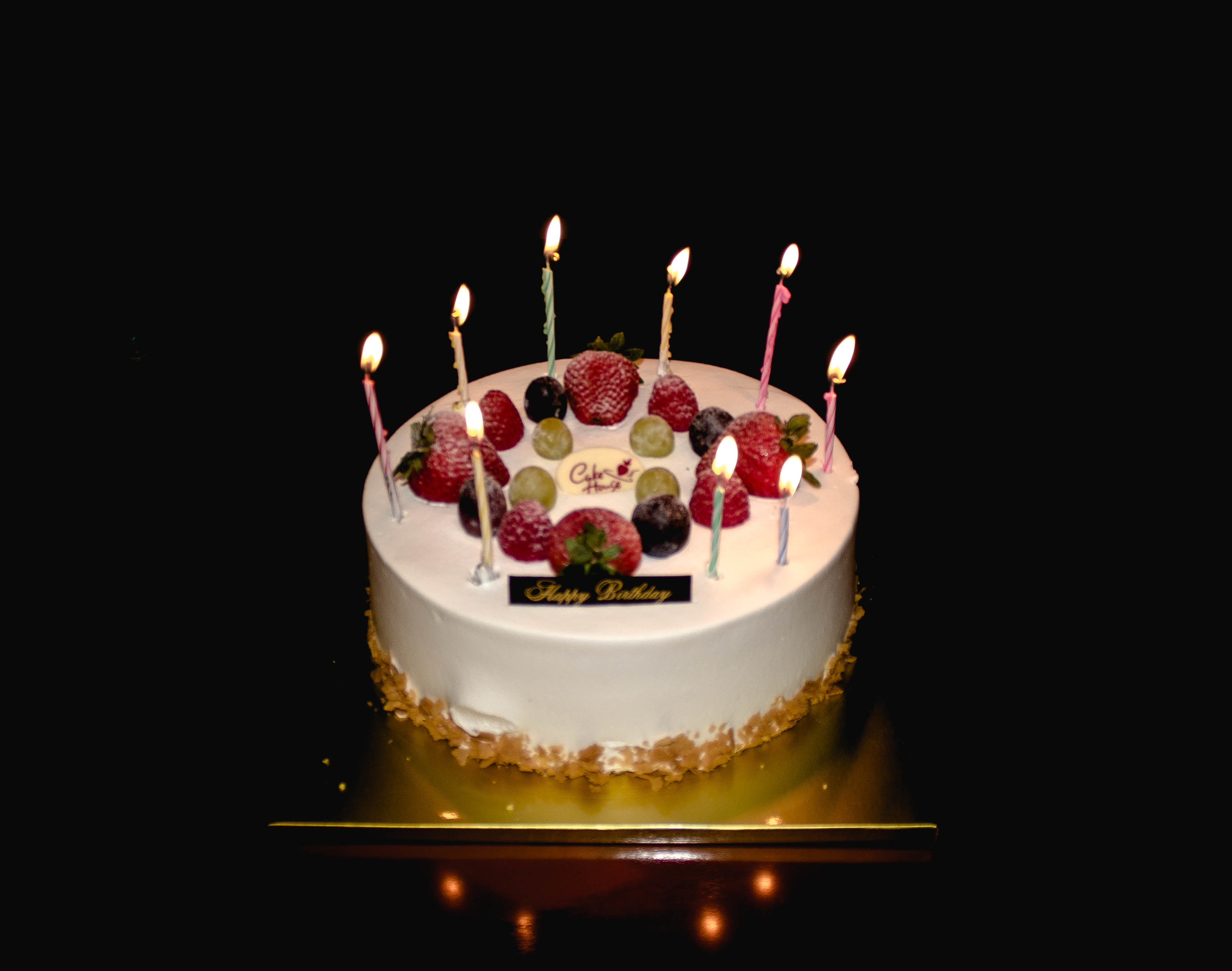 Cake House fruit and cream cake for 27 years of blessings   fit for the soul