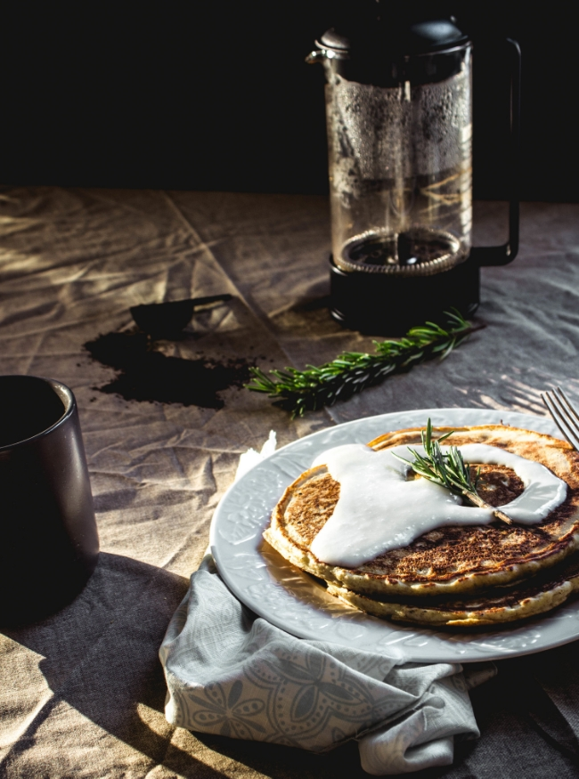 Groundwork coffee review and lemon icing pancakes for breakfast | fit for the soul
