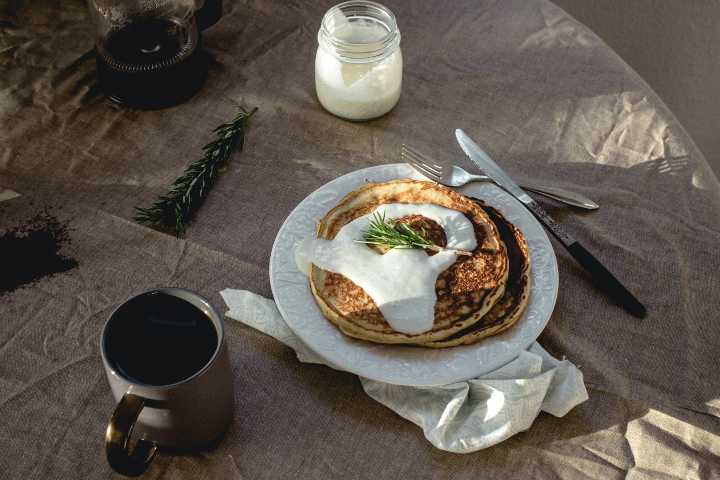 Groundwork Coffee review and lemon icing pancakes recipe | fit for the soul
