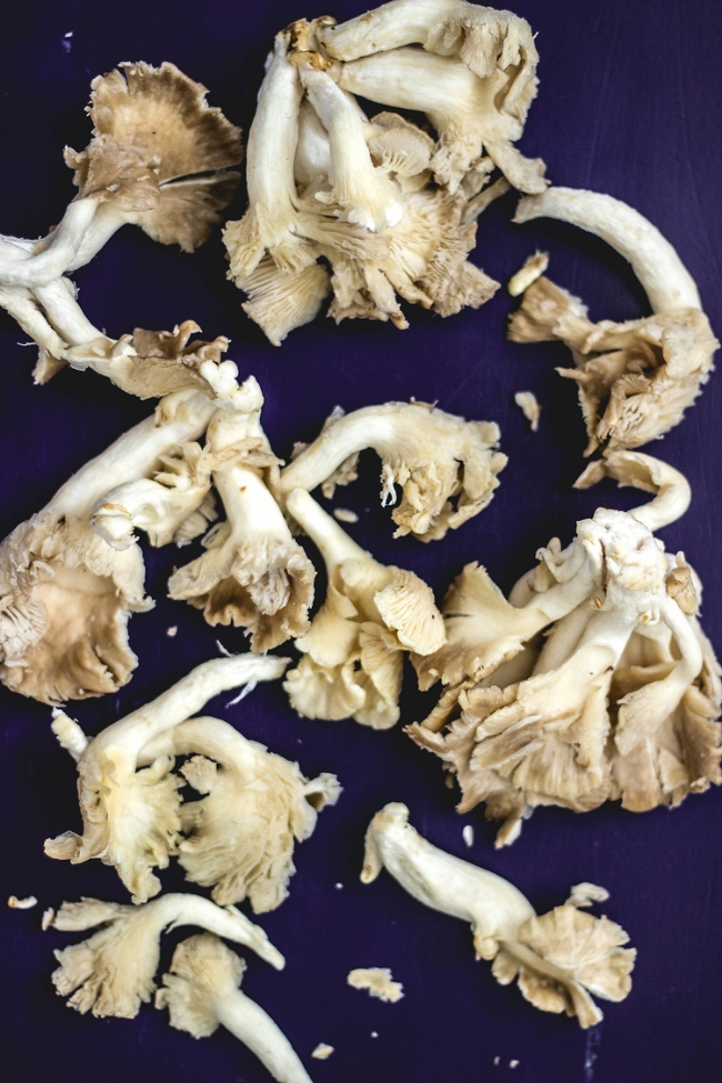 Oyster mushrooms ready for cooking | fit for the soul