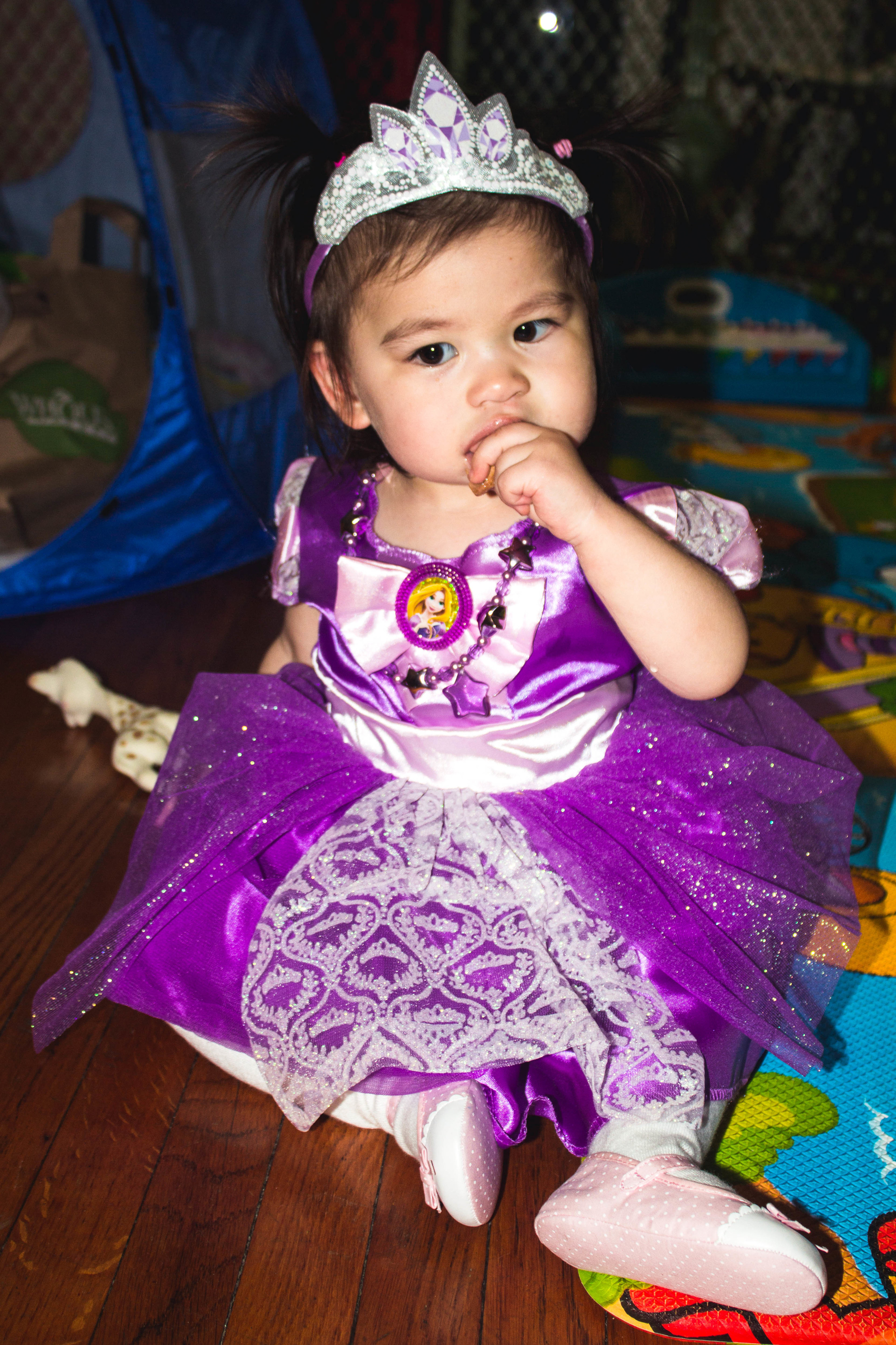 Selah's Rapunzel 2nd Halloween costume | fit for the soul