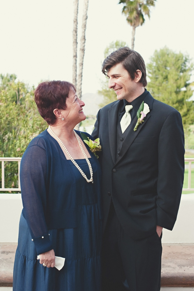 Greg and Gramma Sandy at Our Wedding in 2012 | fit for the soul