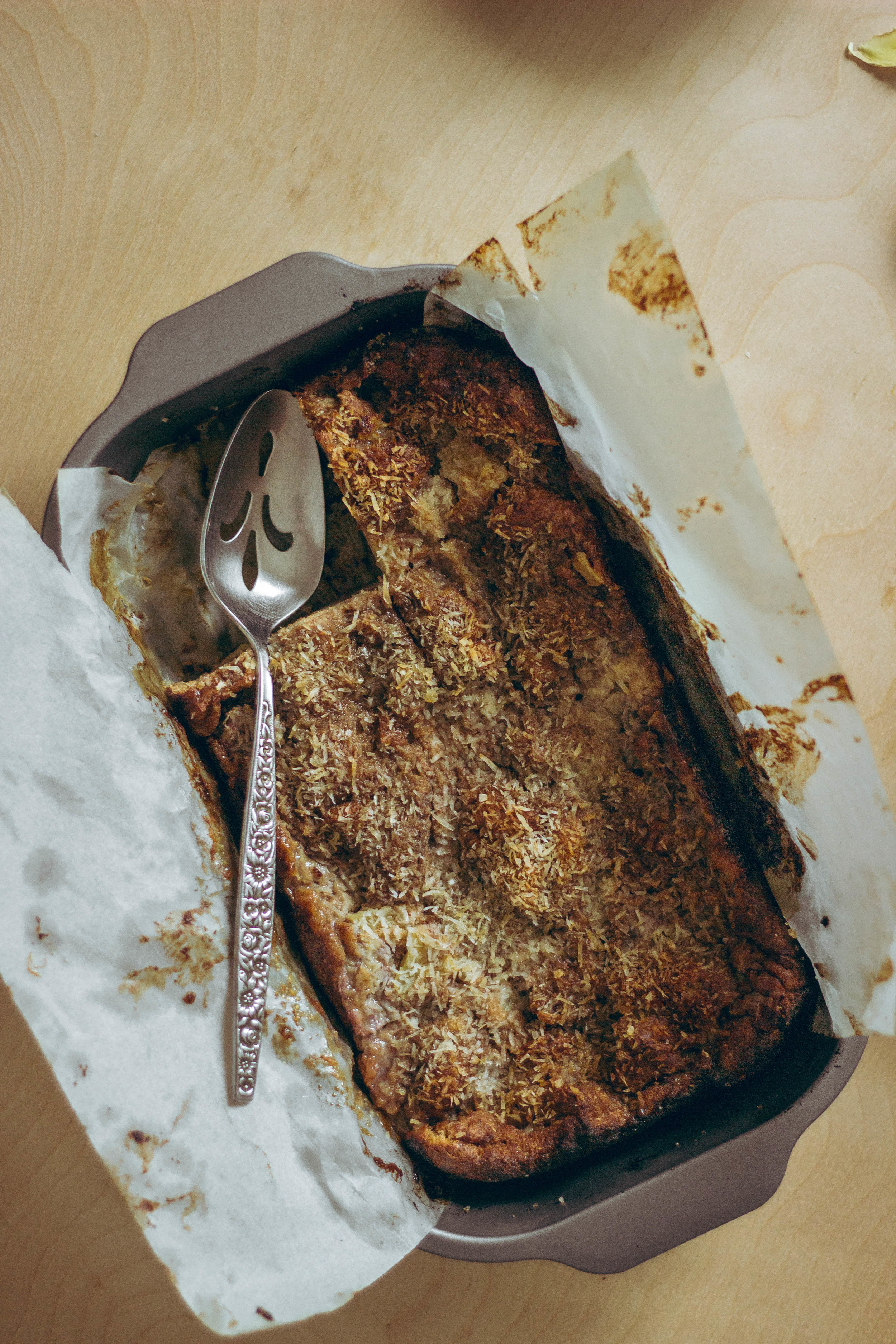 Banana Bread Pudding and a Ginger Caramel Sauce Recipe | by fit for the soul