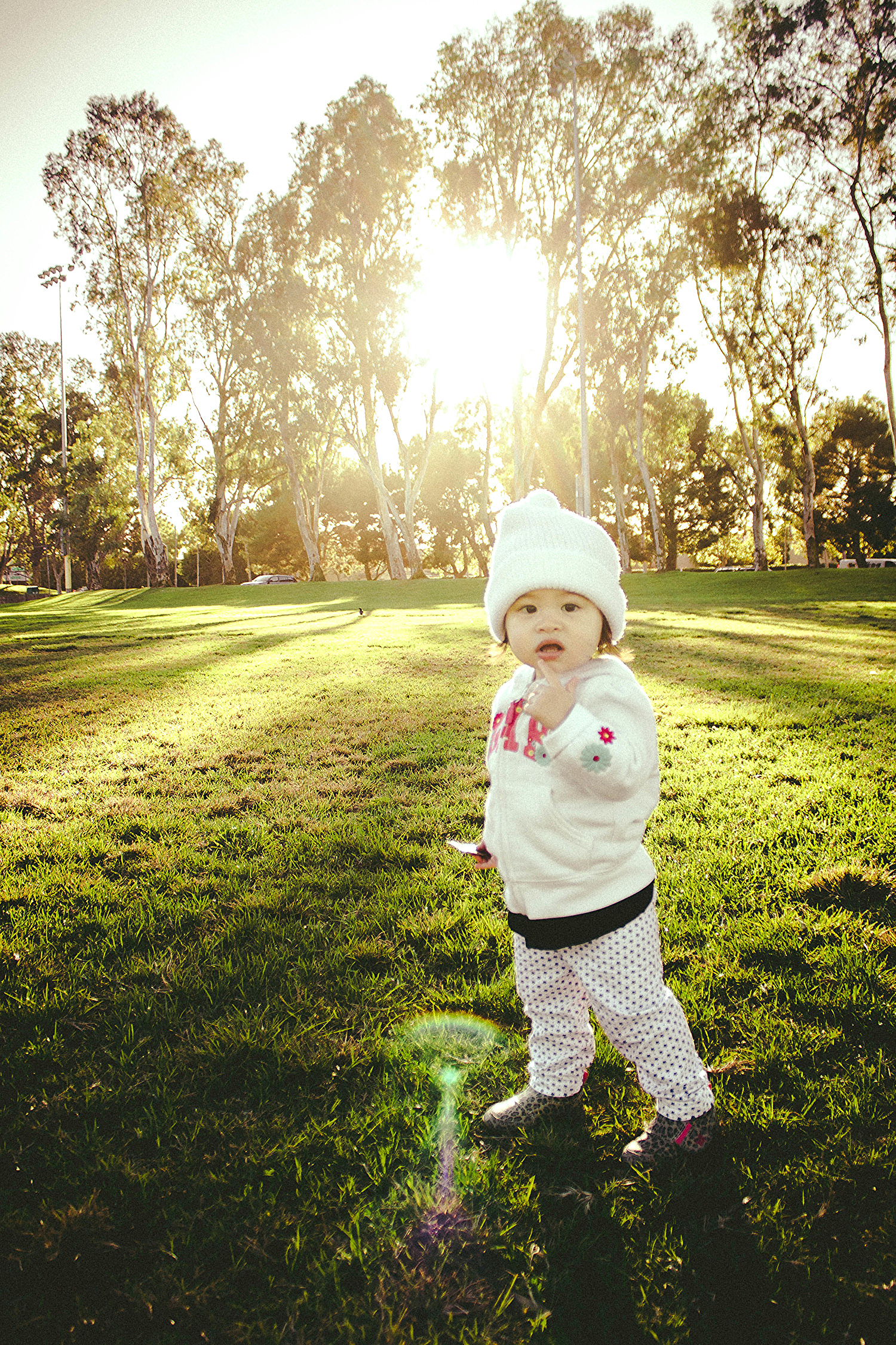 Selah in the golden hour at Torrance Wilson Park | fit for the soul