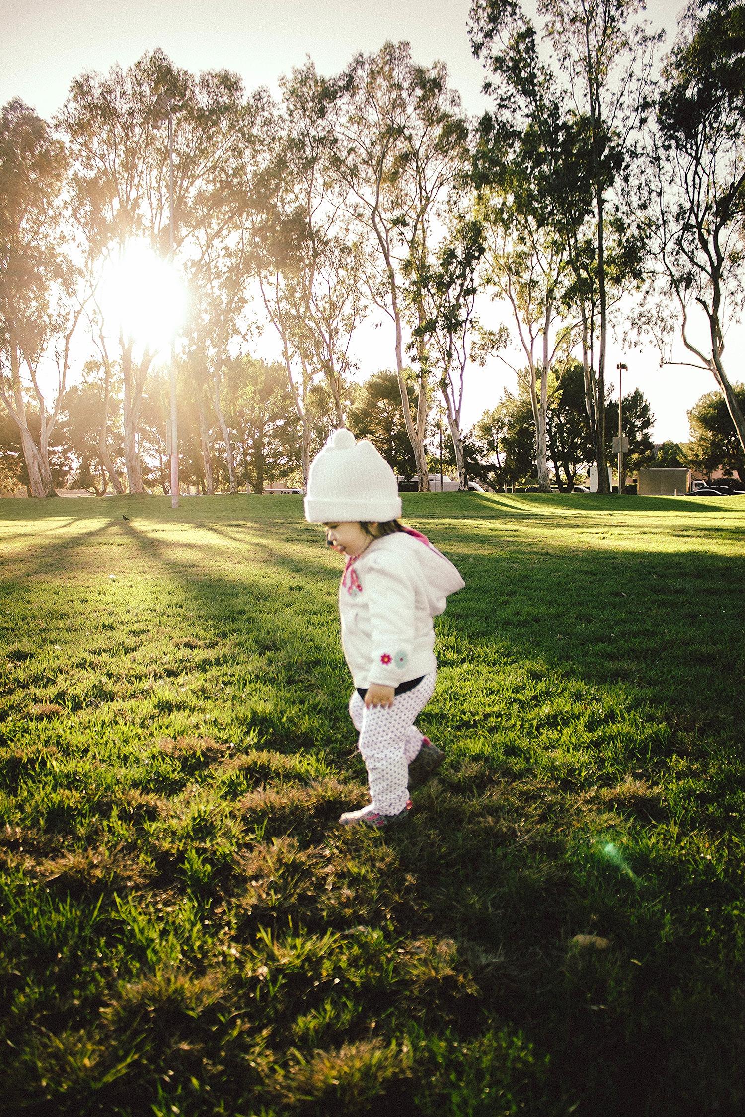 Selah in the golden hour at Torrance Wilson Park.jpg