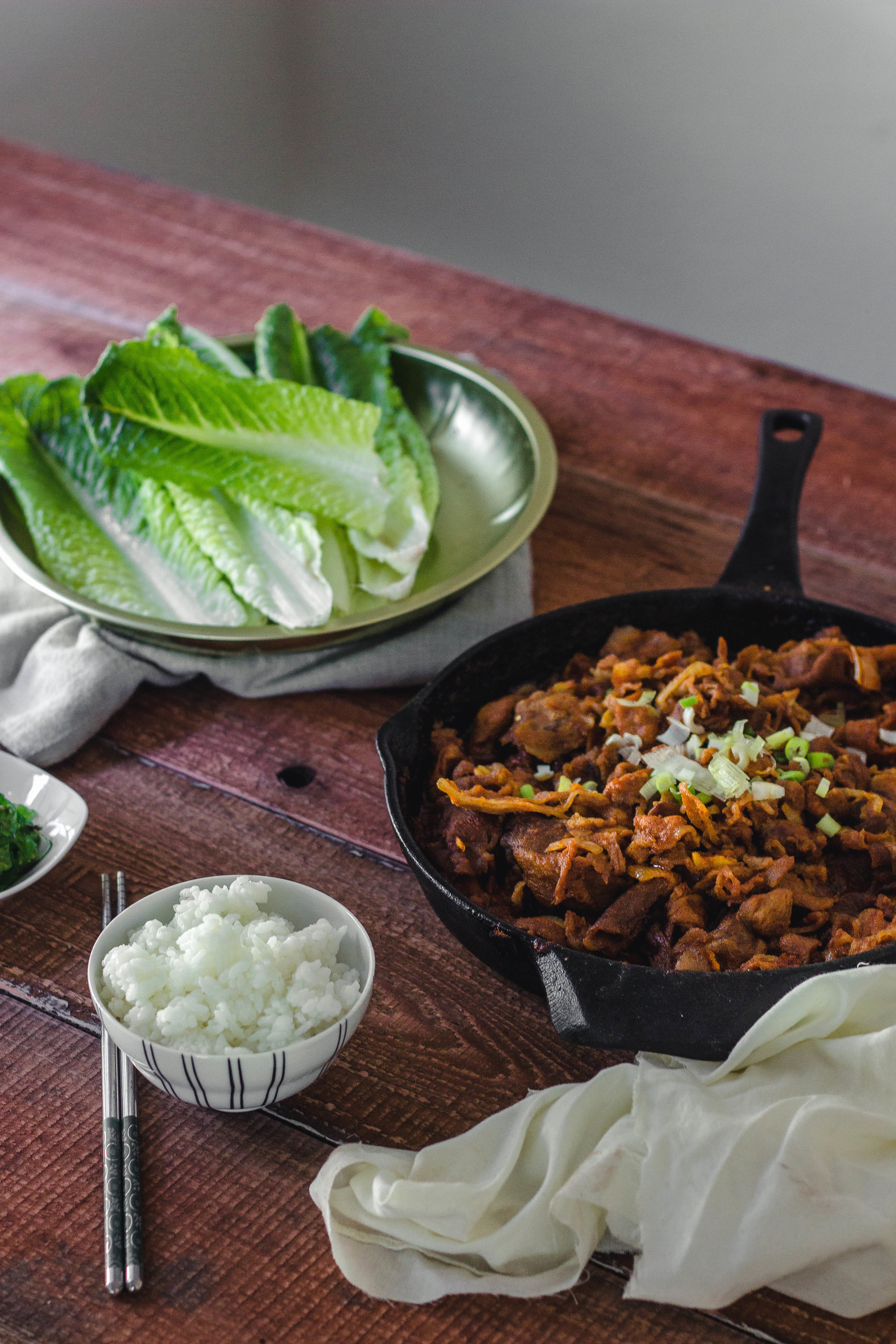 Best spicy pork bulgogi recipe | by fit for the soul
