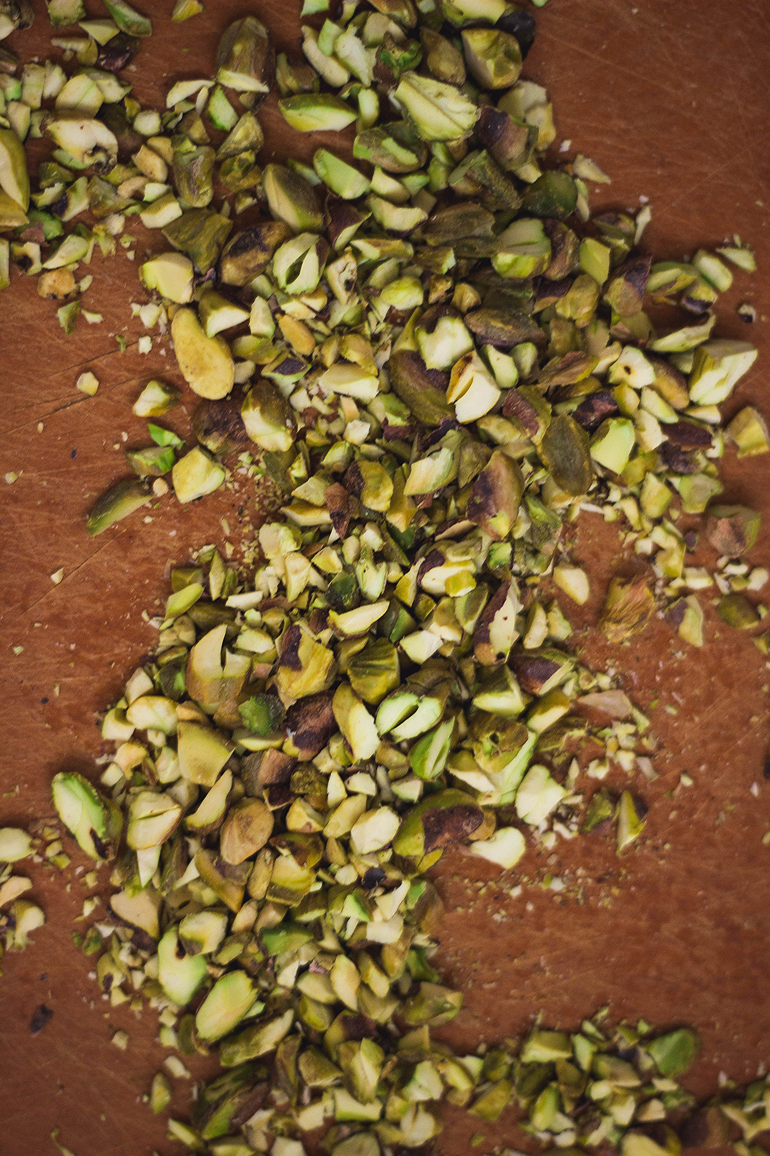 Toasted pistachios for a Salad   by fit for the soul