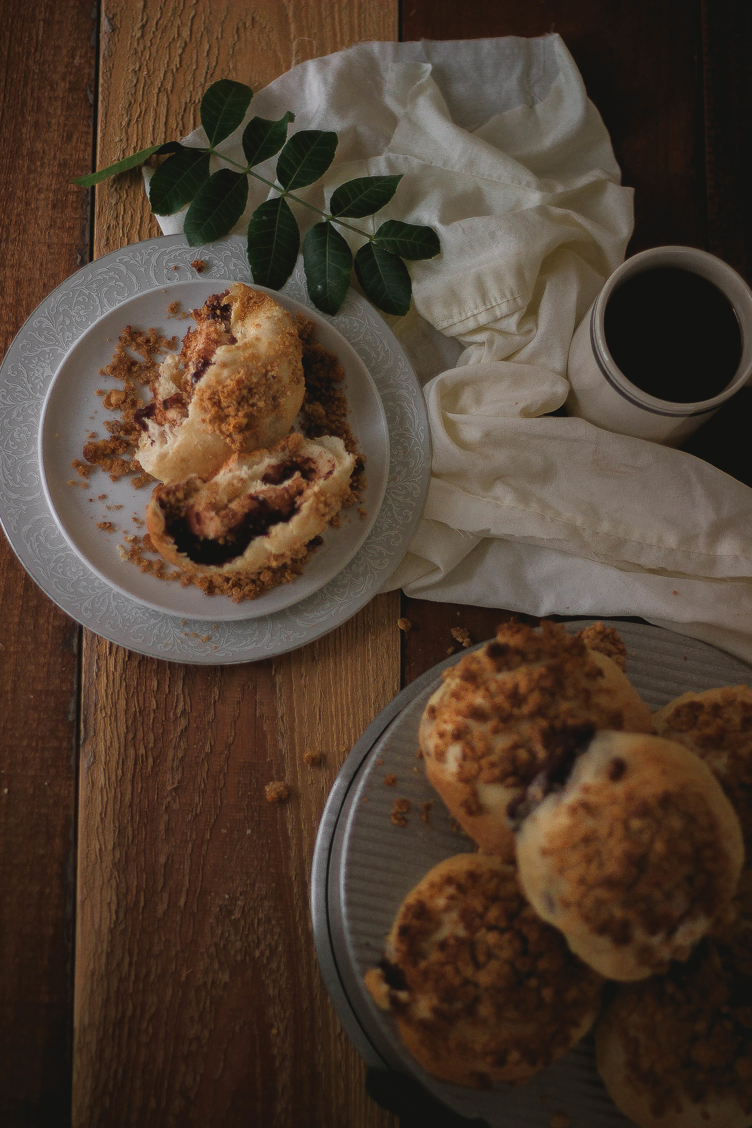 Soboro {소보로} Korean peanut streusel bread recipe | by fit for the soul