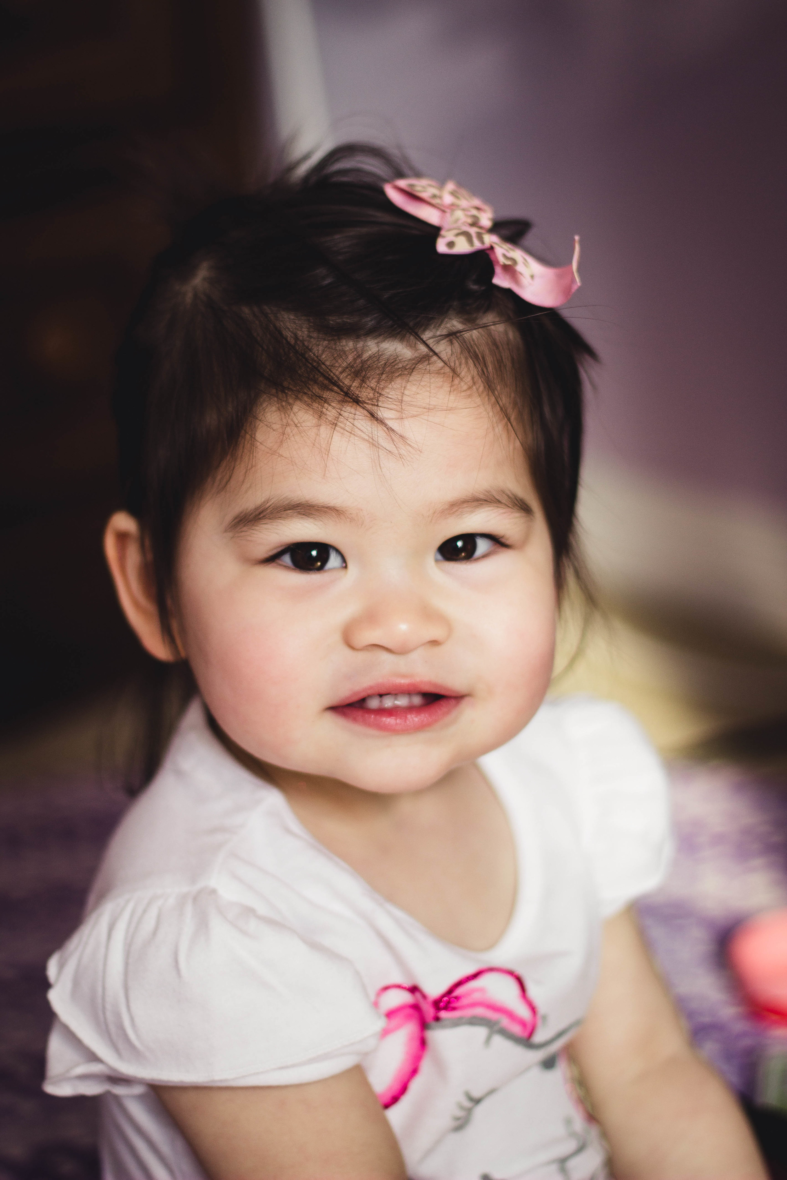 Selah at 1.5 years old portrait | by fit for the soul