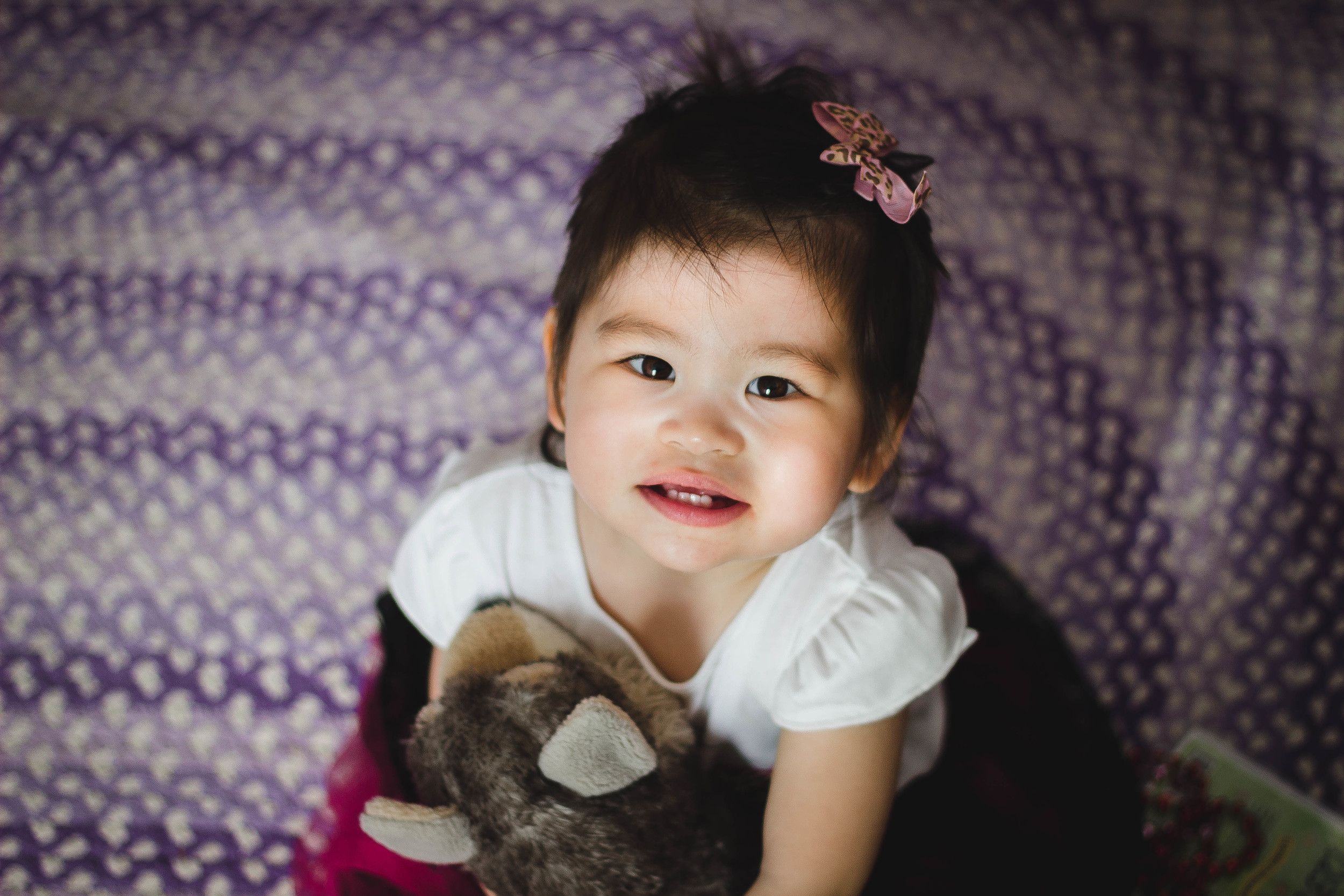 Portrait of Selah at 1.5 years old | by fit for the soul