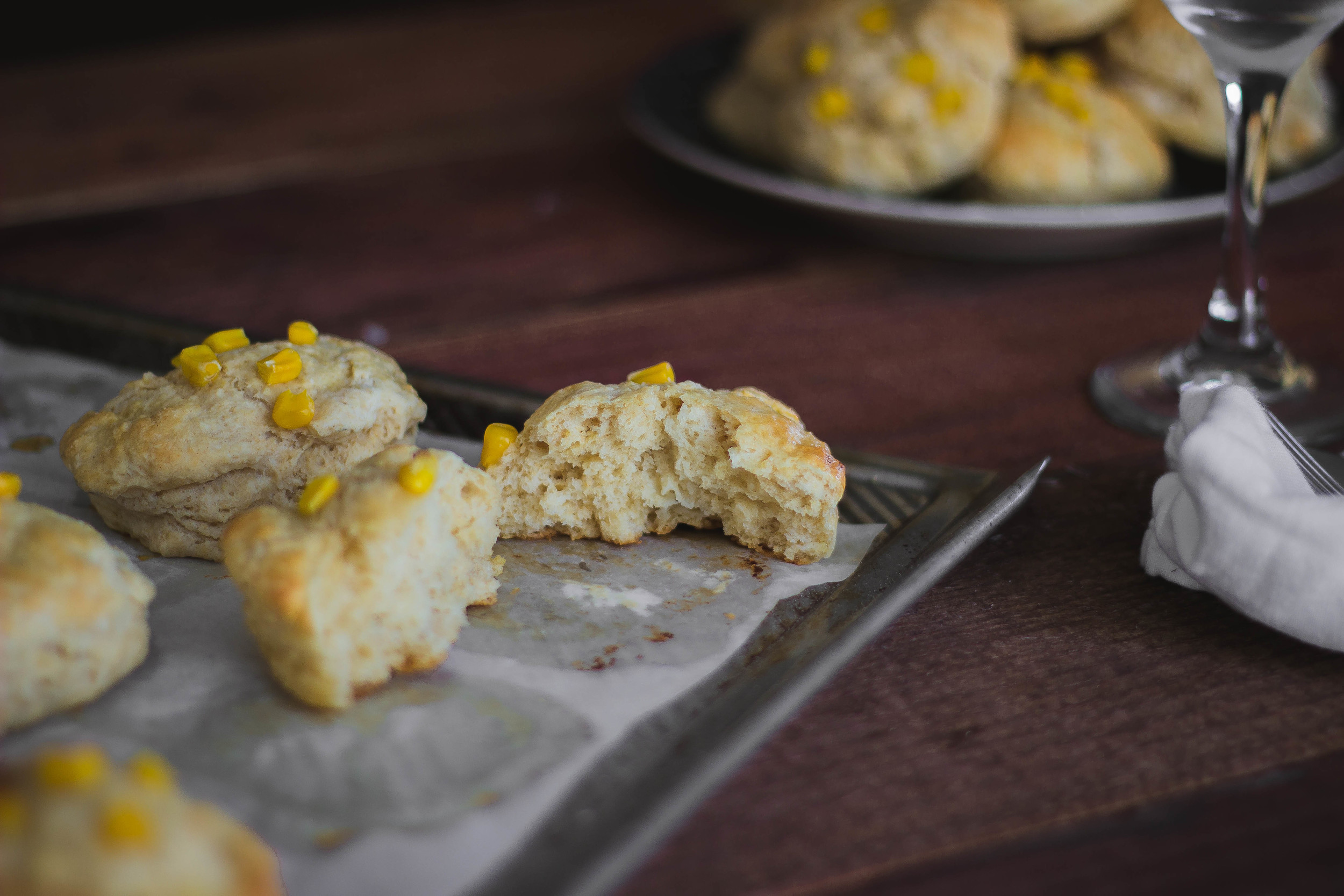 Easy and healthy homemade biscuits   by fit for the soul