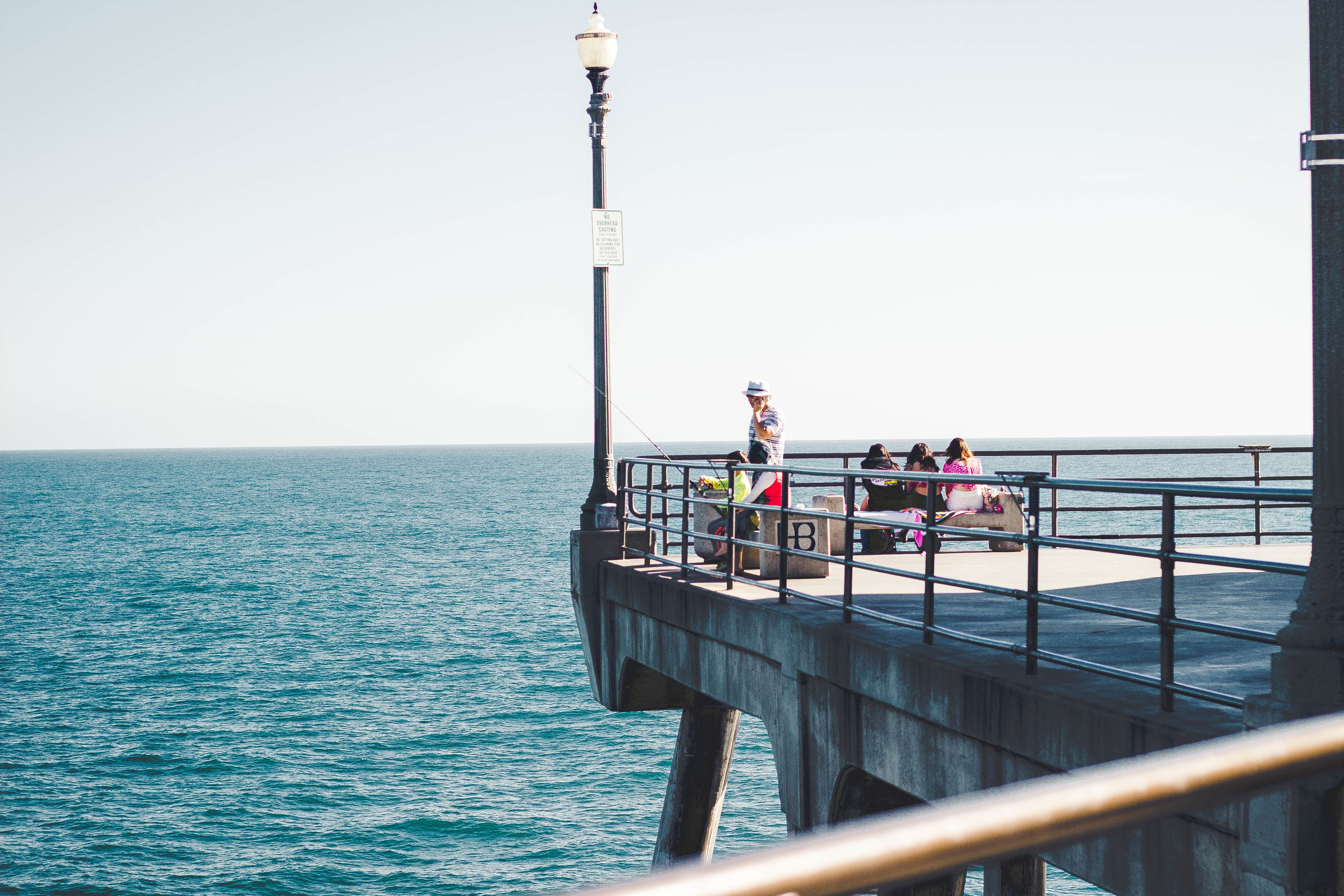 Huntington Beach Pier and Fishing | by fit for the soul