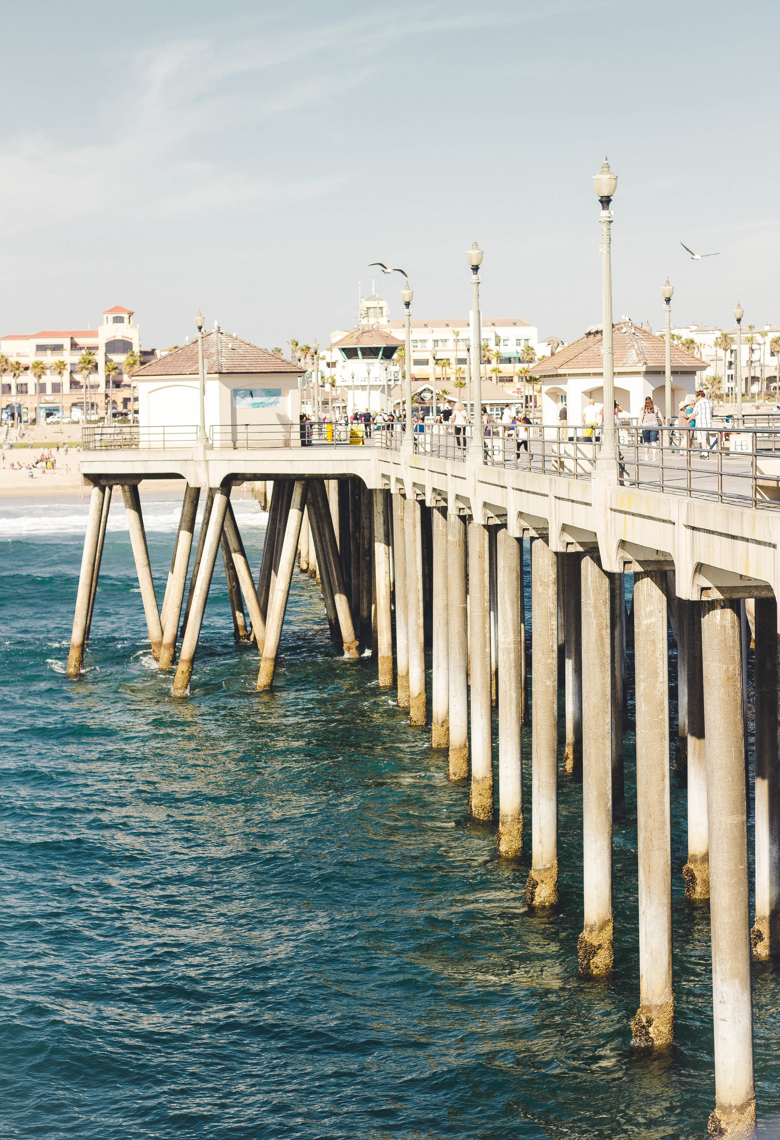 Huntington Beach Pier photograph in the Spring | by fit for the soul