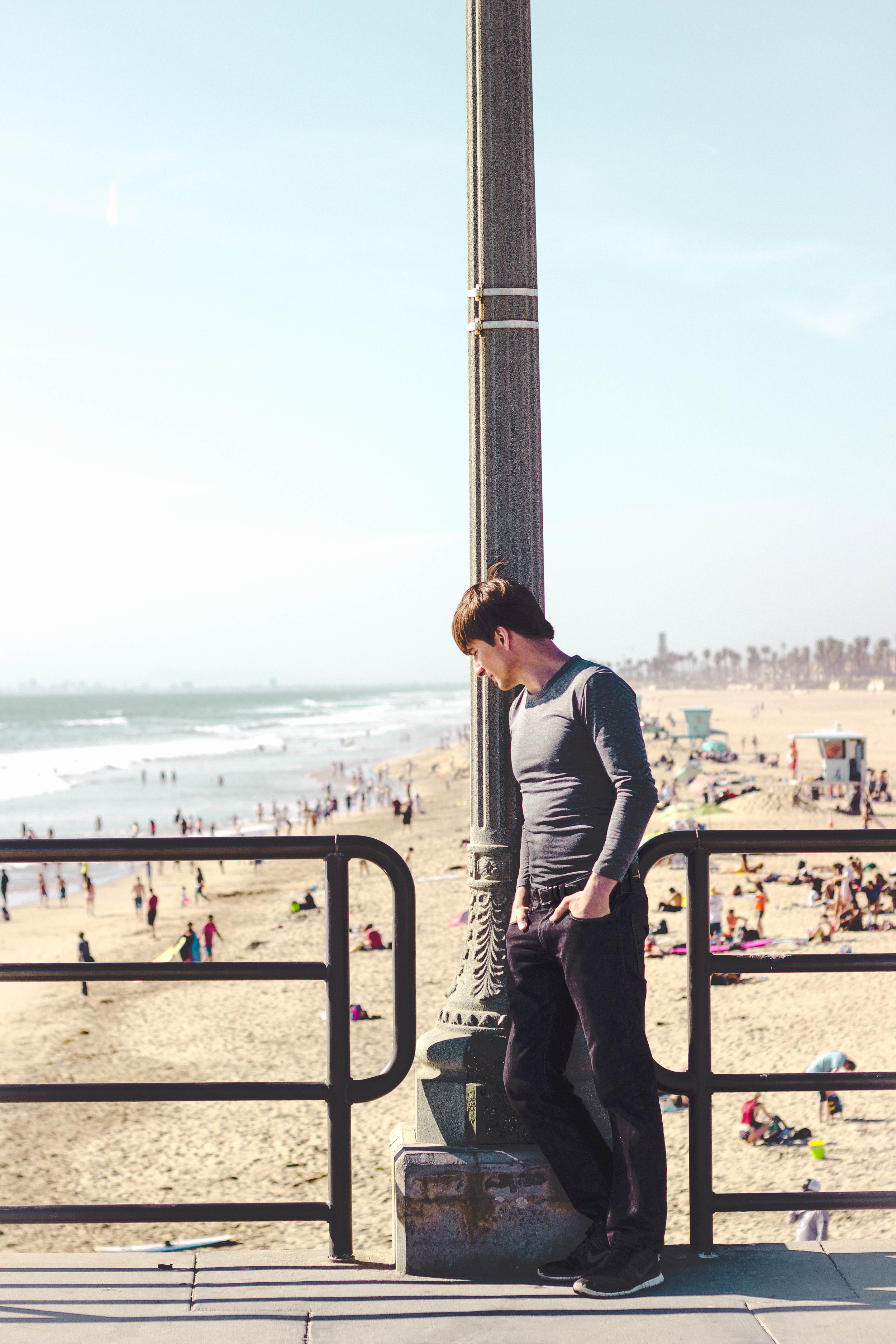 Greg at Huntington Beach Pier | by fit for the soul
