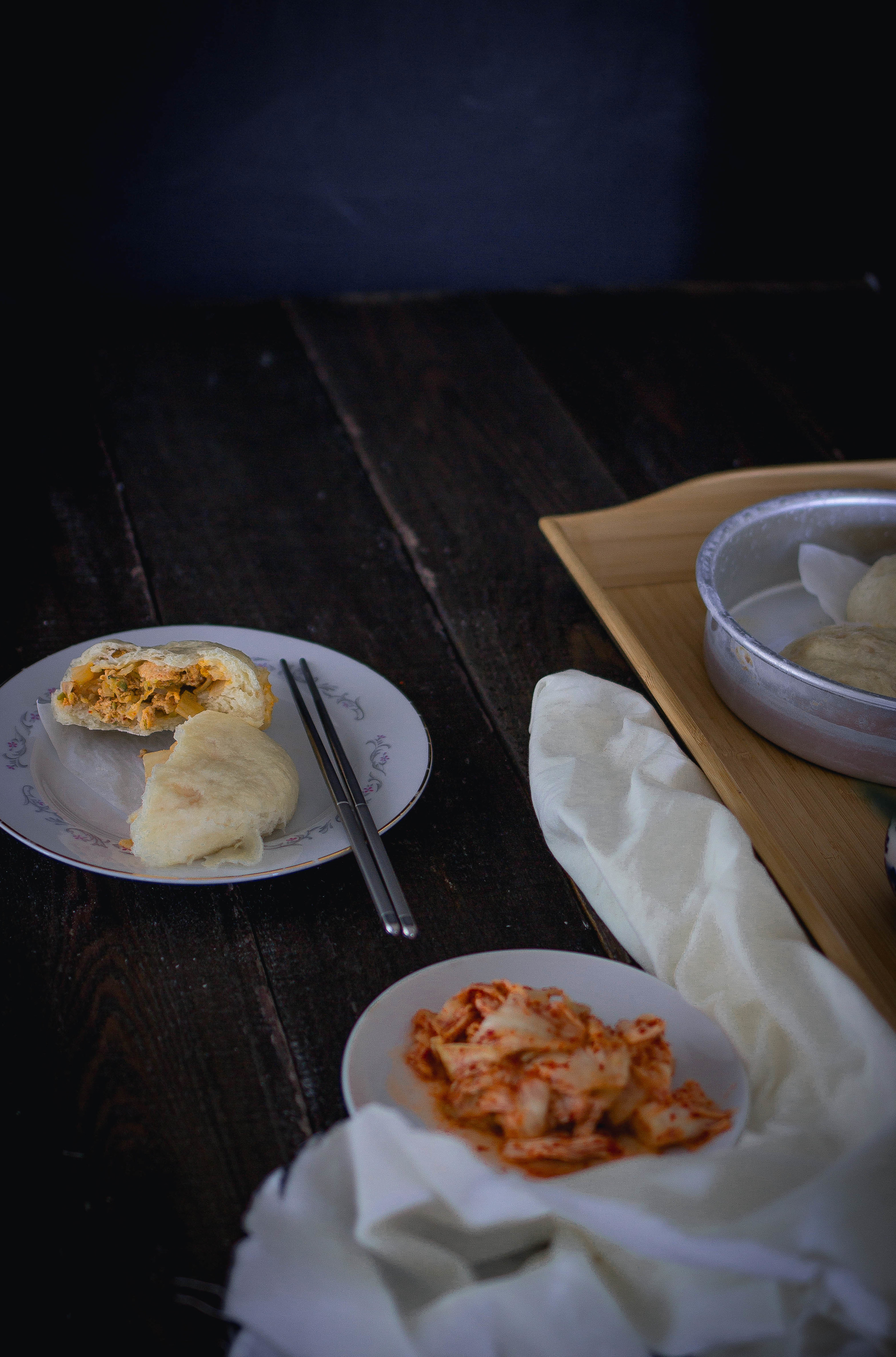 How to make Kimchi Jjinbbang at home-easy recipe   by fit for the soul