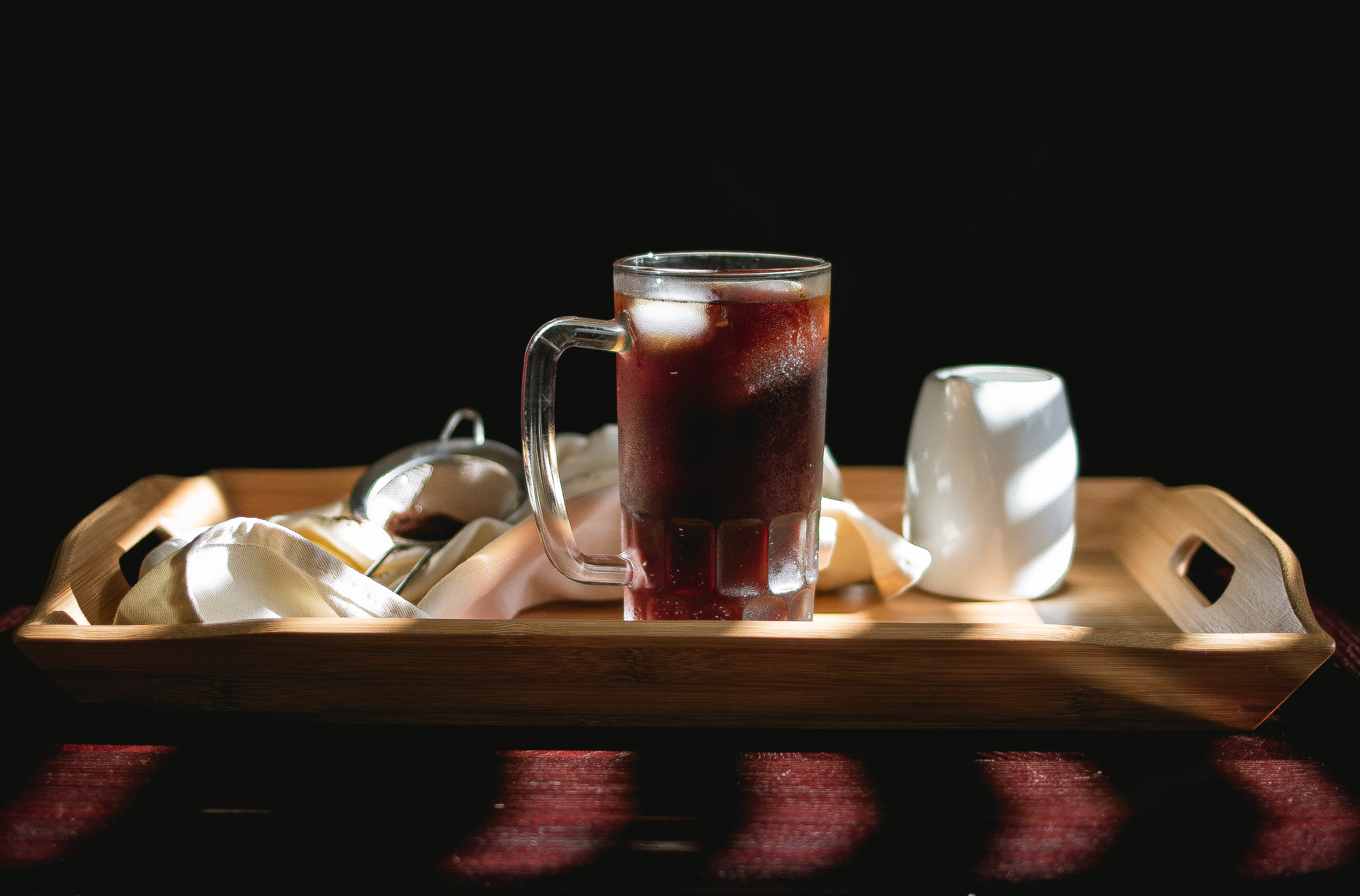 How to make sea salt iced coffee-85 Degrees and 7 leaves inspired | by fit for the soul