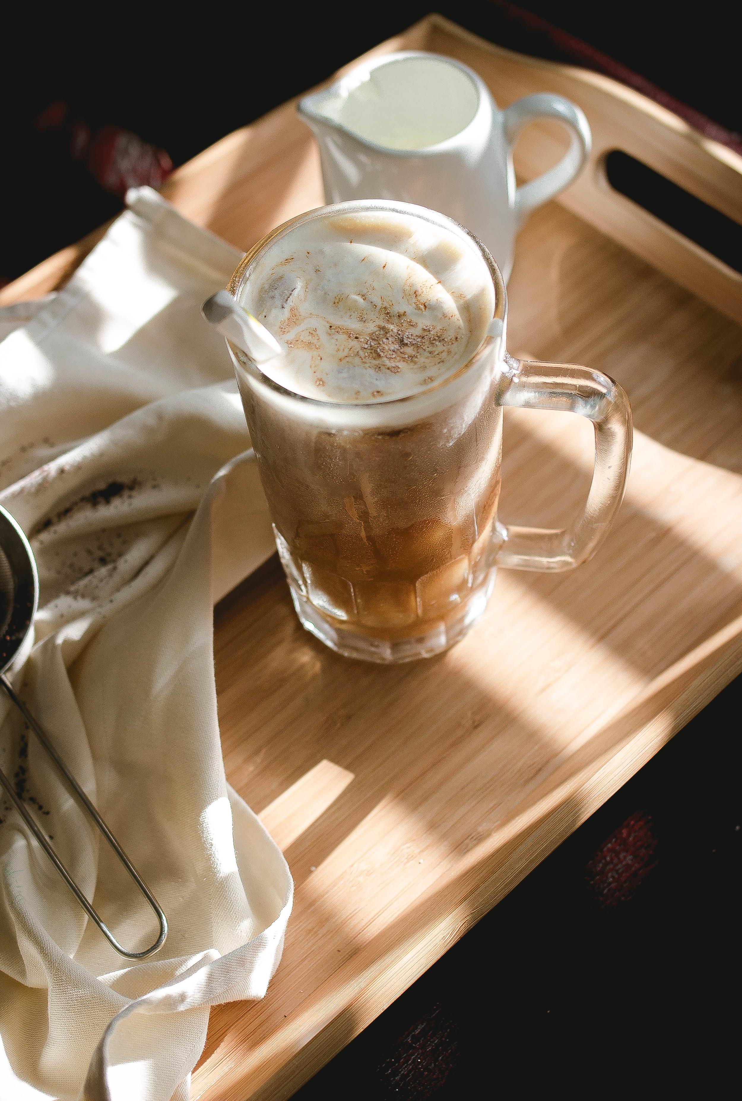 How to make 85 Degrees and 7 leaves Sea salt cream iced coffee.jpg