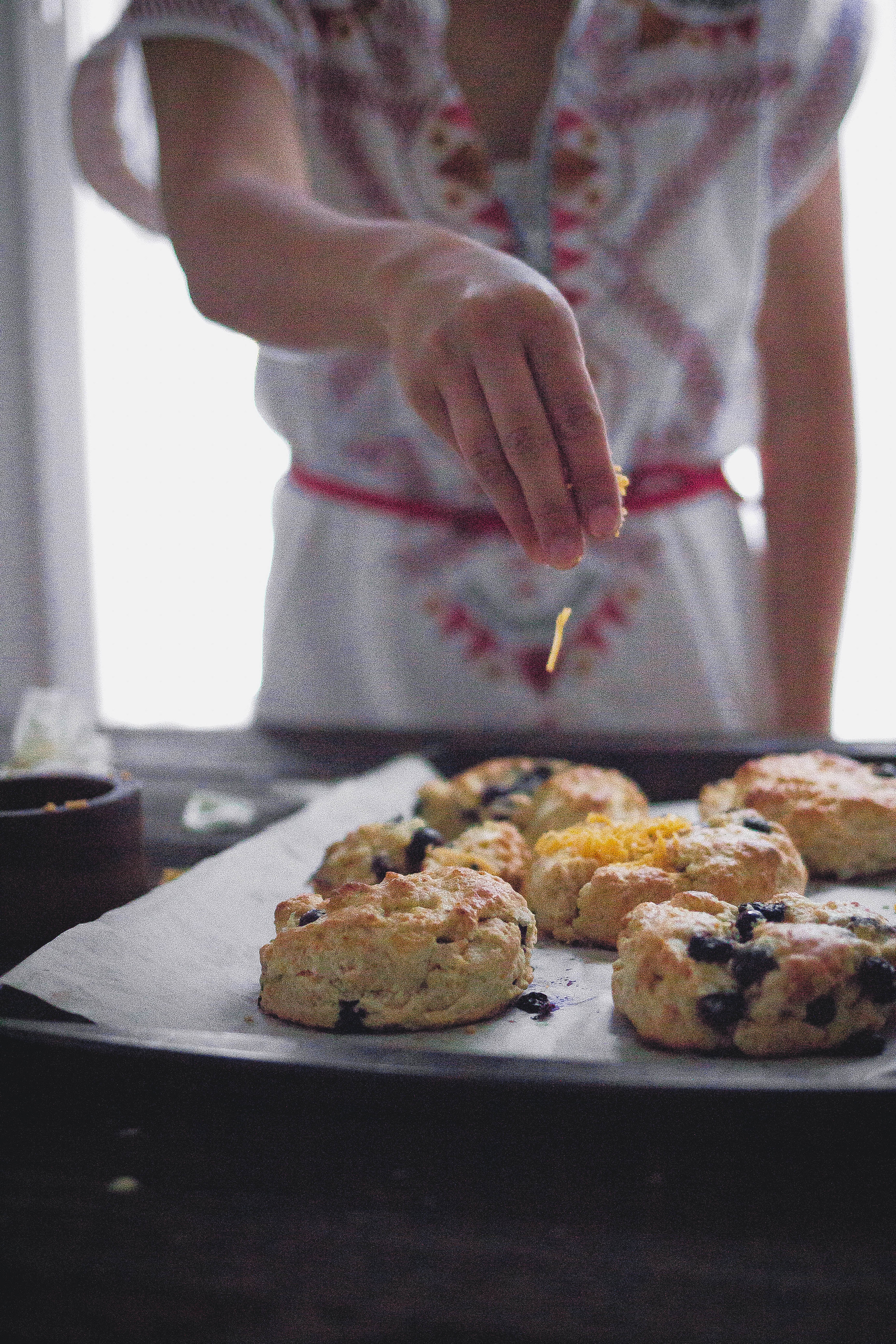 How to make the best cheddar fruit cream scones | by fit for the soul