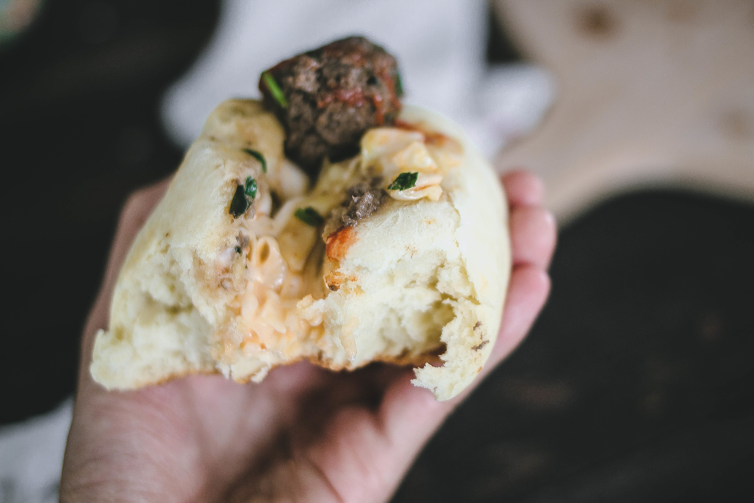 Hokkaido Milk Buns and Spicy Bulgogi Meatball Sandwich | by fit for the soul