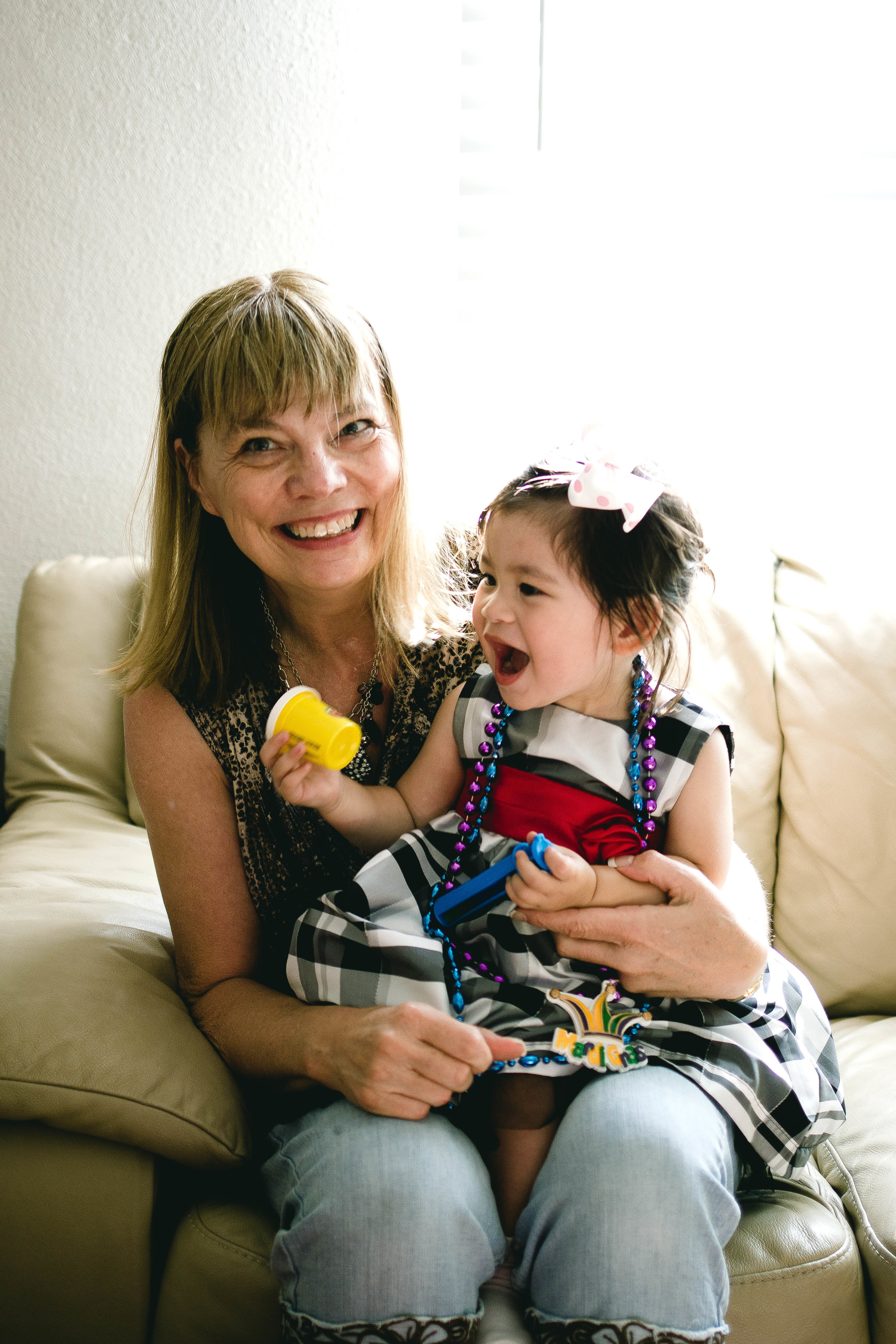 Selah and Grandma | by fit for the soul