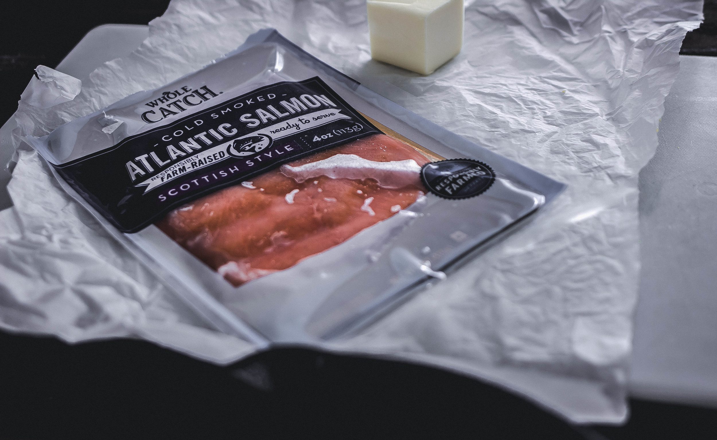 "Whole Foods ""Whole Catch"" Smoked Salmon 