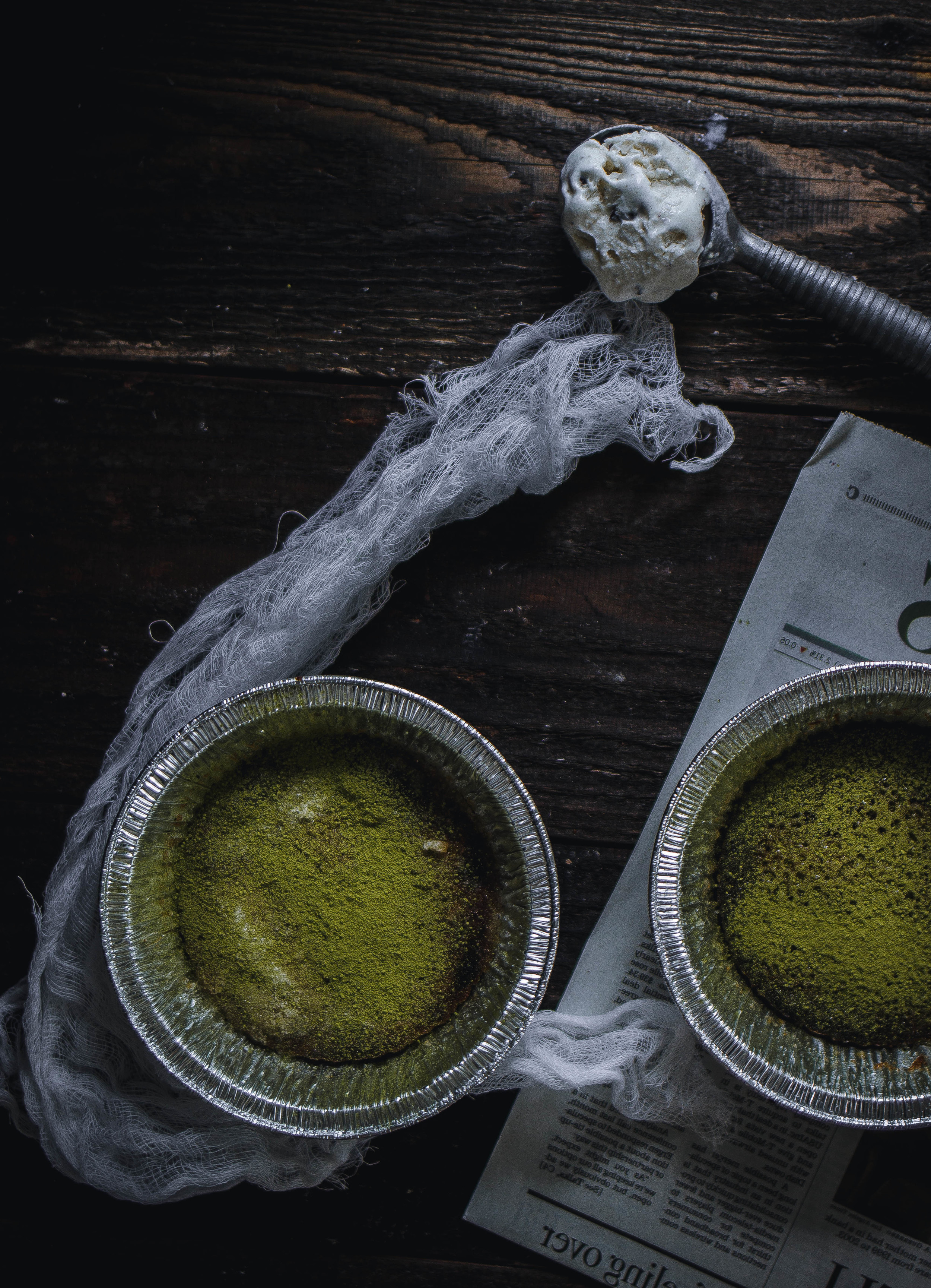 How to make Matcha Creme Brulee without a blowtorch--easy recipe | by fit for the soul