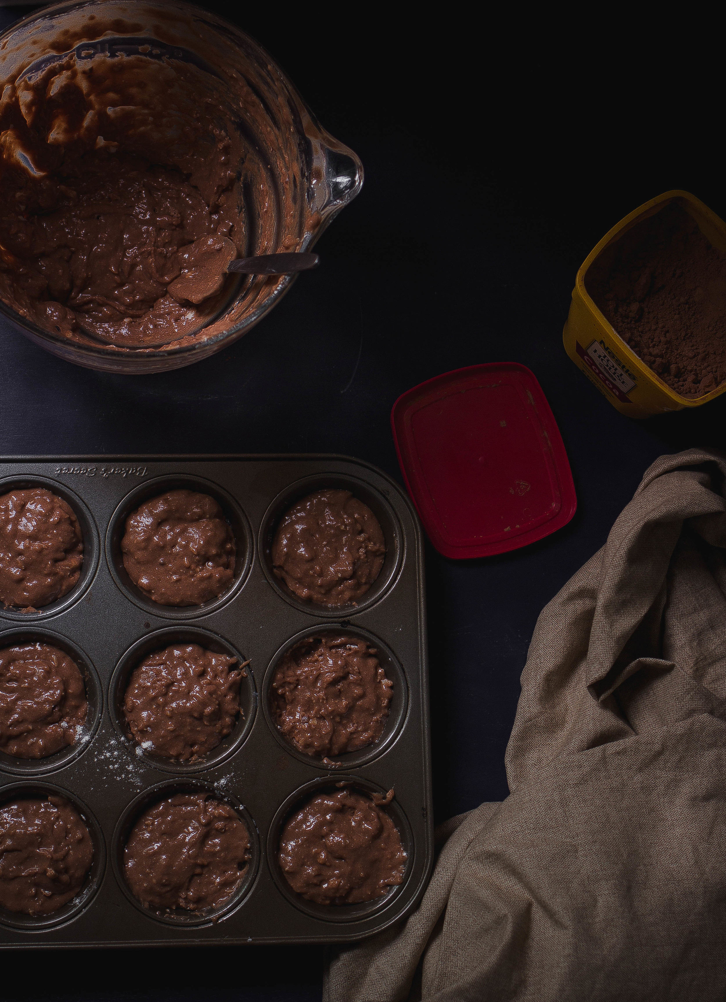 Chocolate Cupcakes and a Rum Caramel Mascarpone Buttercream for Halloween | by fit for the soul