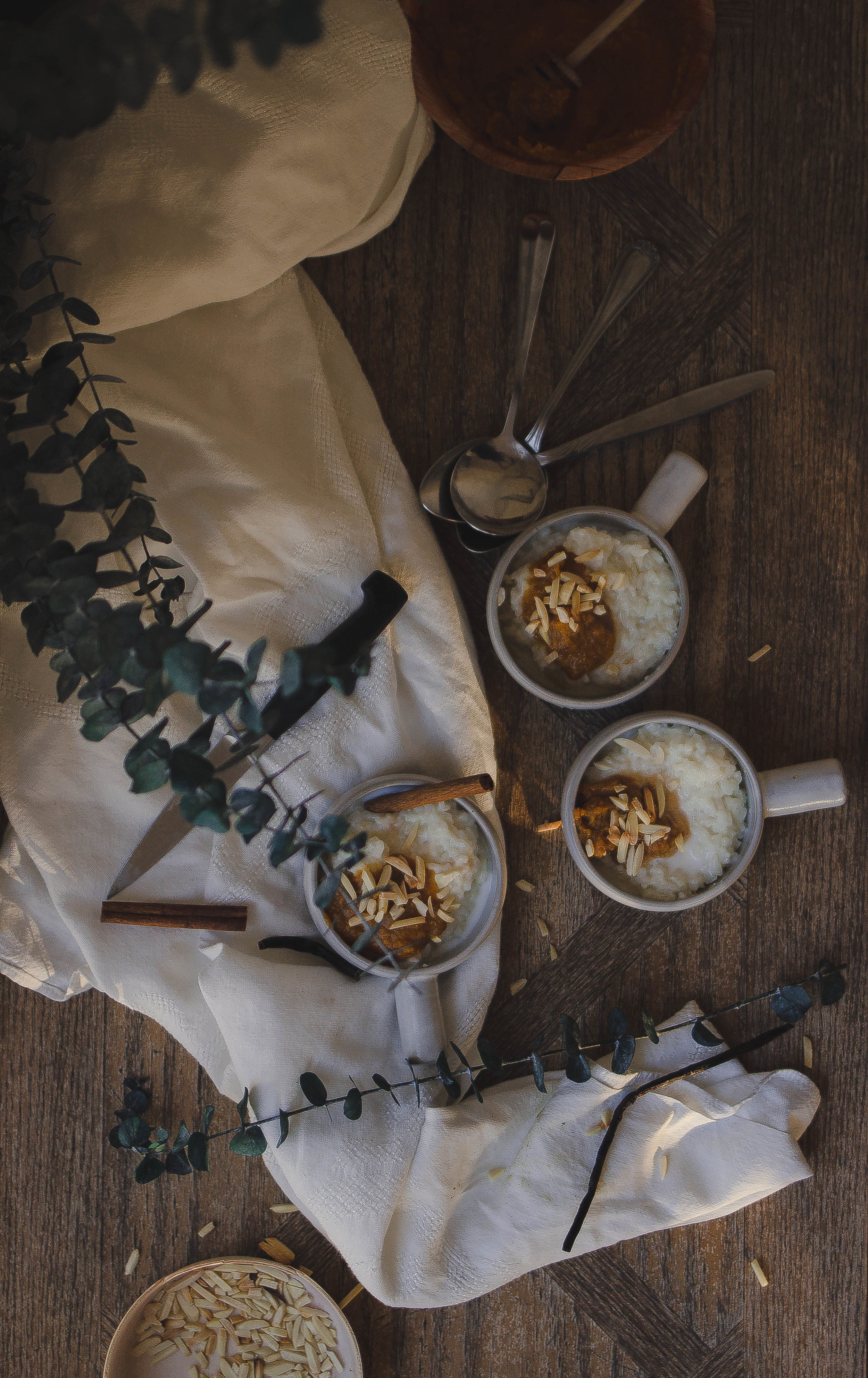 How to make Argentinean Arroz con Leche step by step--Crate and Barrel souffle bowls | by fit for the soul