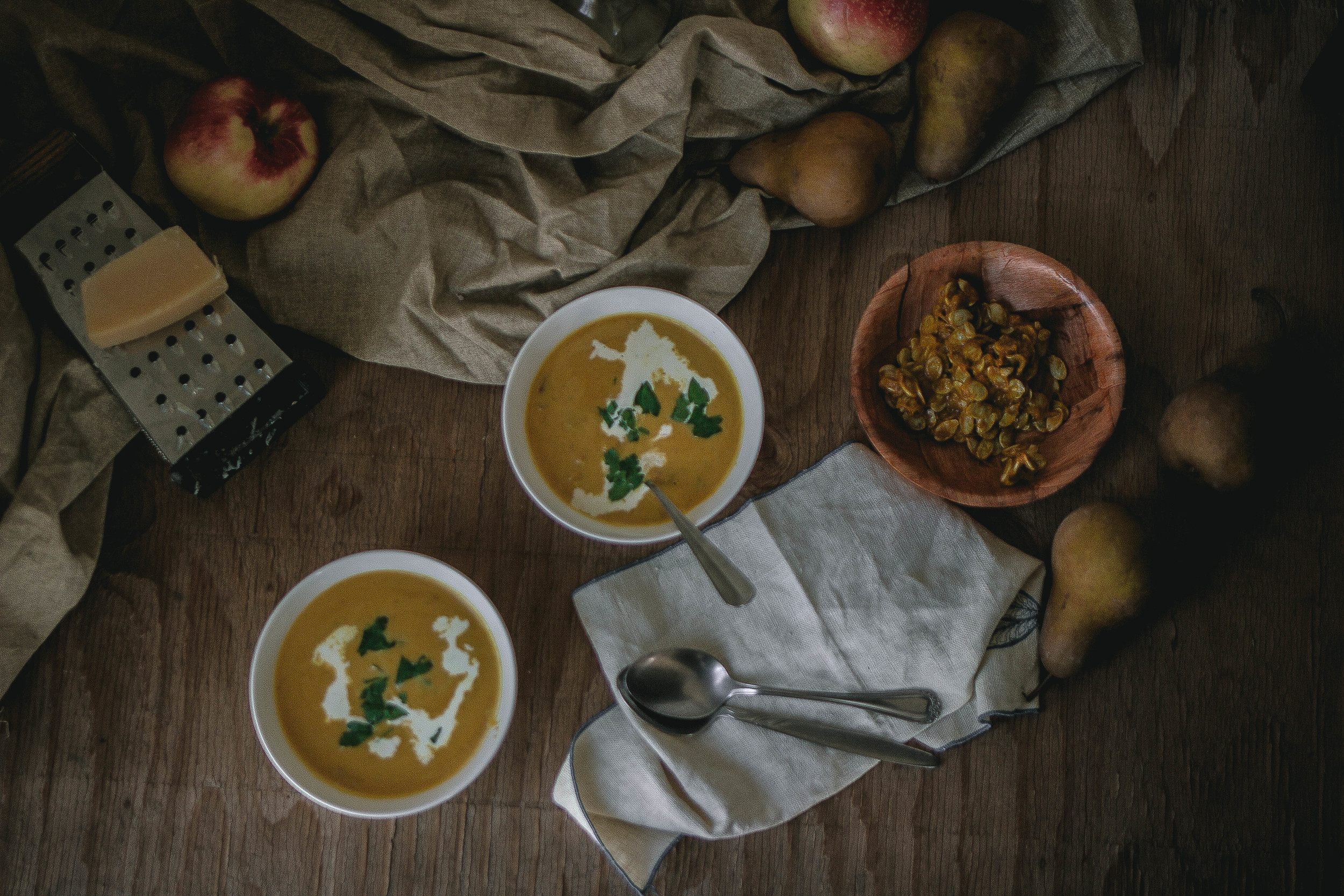 Dahn Hobak Soup {American style} | by fit for the soul